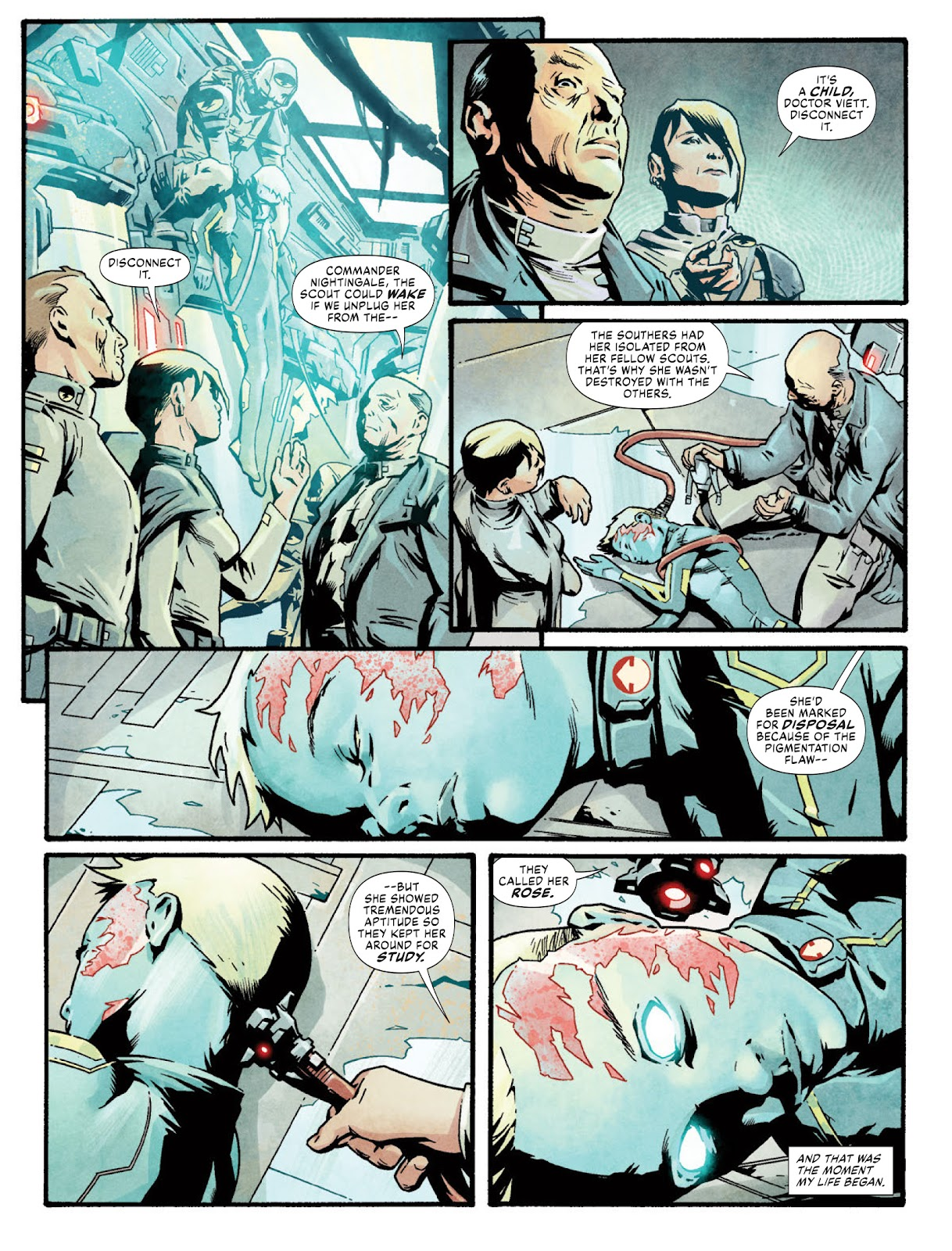 2000 AD issue 2220 - Page 43
