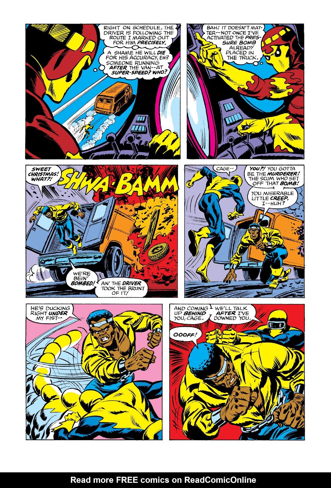 Read online Marvel Masterworks: Luke Cage, Power Man comic -  Issue # TPB 3 (Part 3) - 1