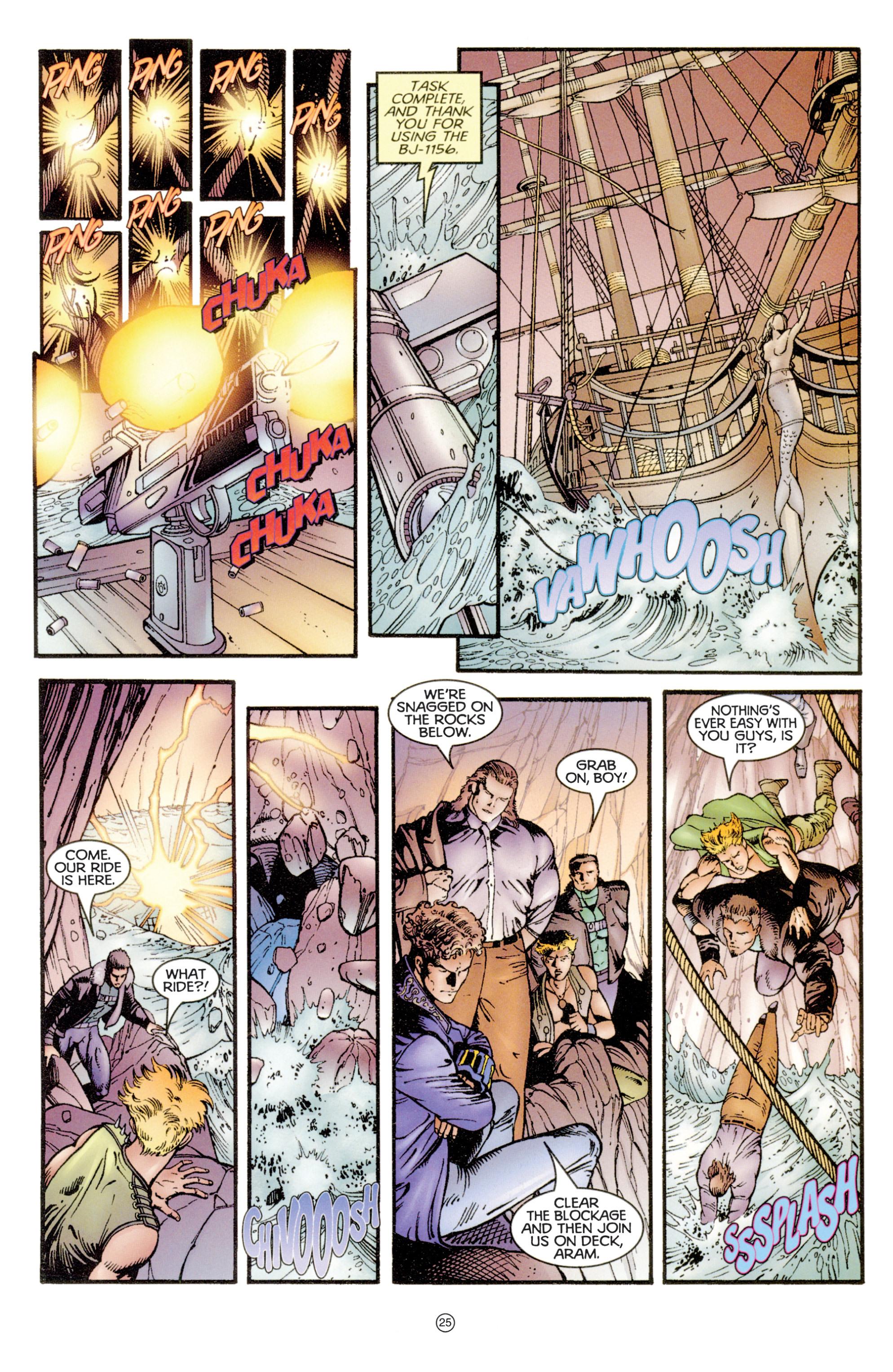 Read online Eternal Warriors comic -  Issue # Issue Digital Alchemy - 23