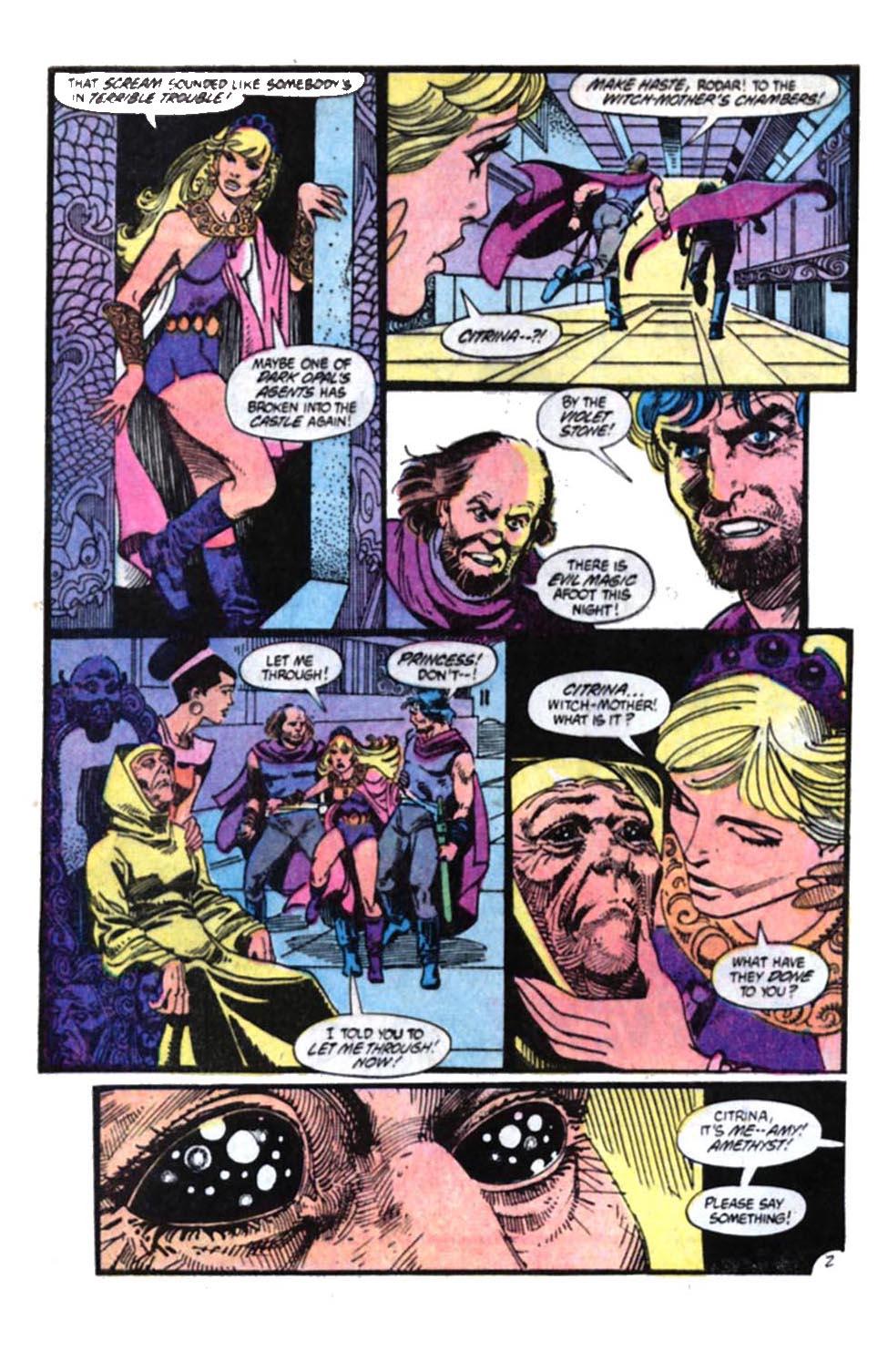Read online Amethyst, Princess of Gemworld comic -  Issue #4 - 3