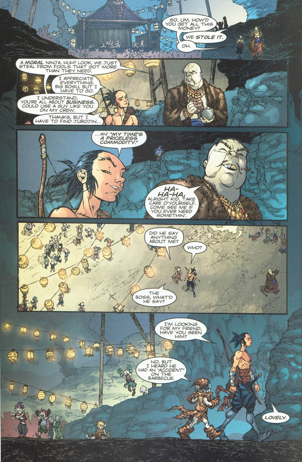 Read online Ninja Boy comic -  Issue #4 - 20