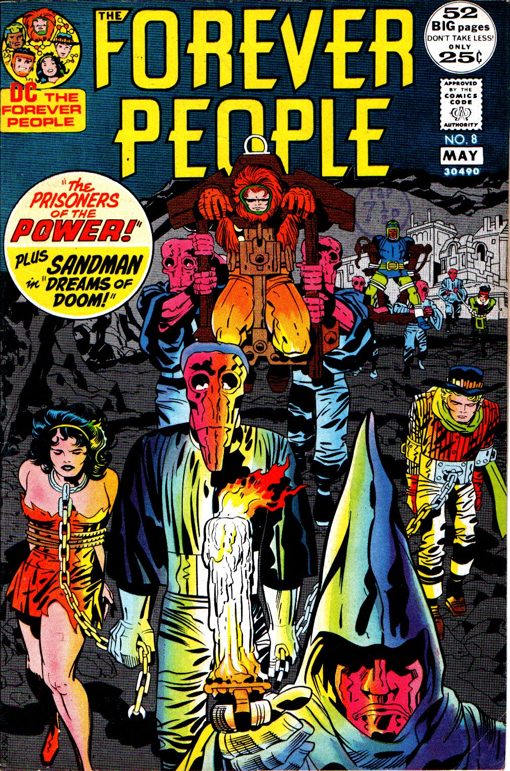 Forever People (1971) issue 8 - Page 1