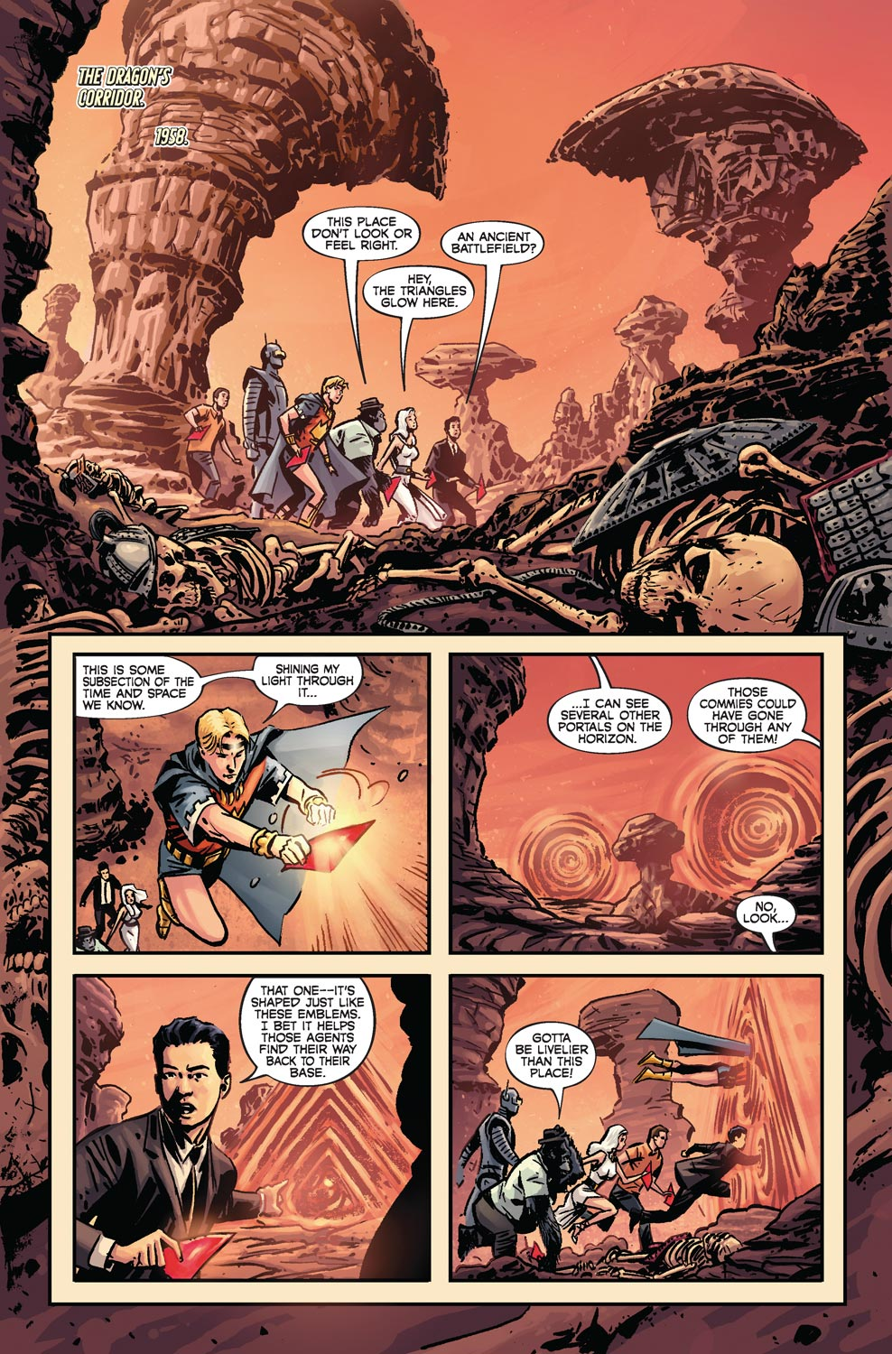 Read online Agents Of Atlas (2009) comic -  Issue #4 - 3