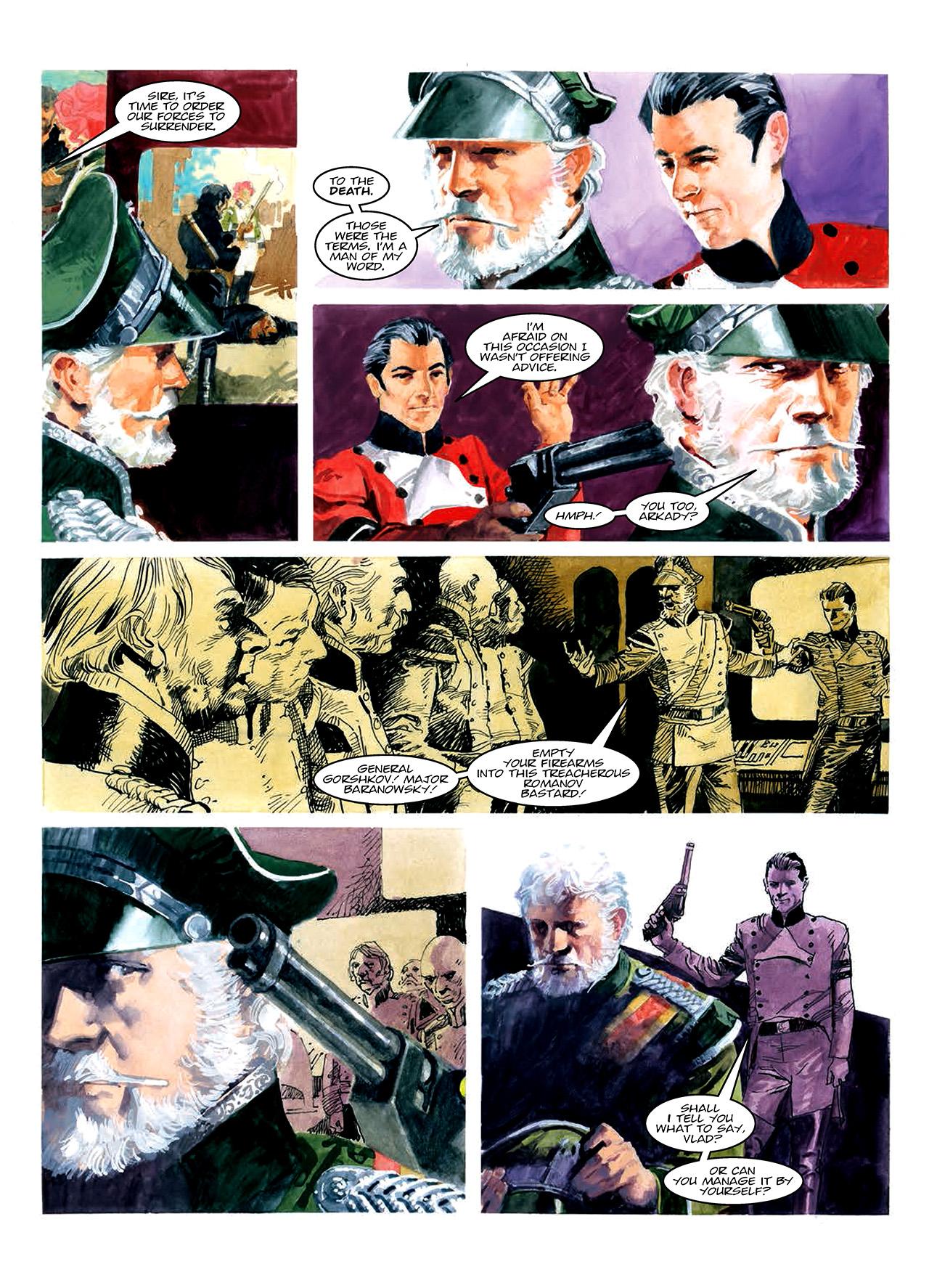 Read online Nikolai Dante comic -  Issue # TPB 10 - 75