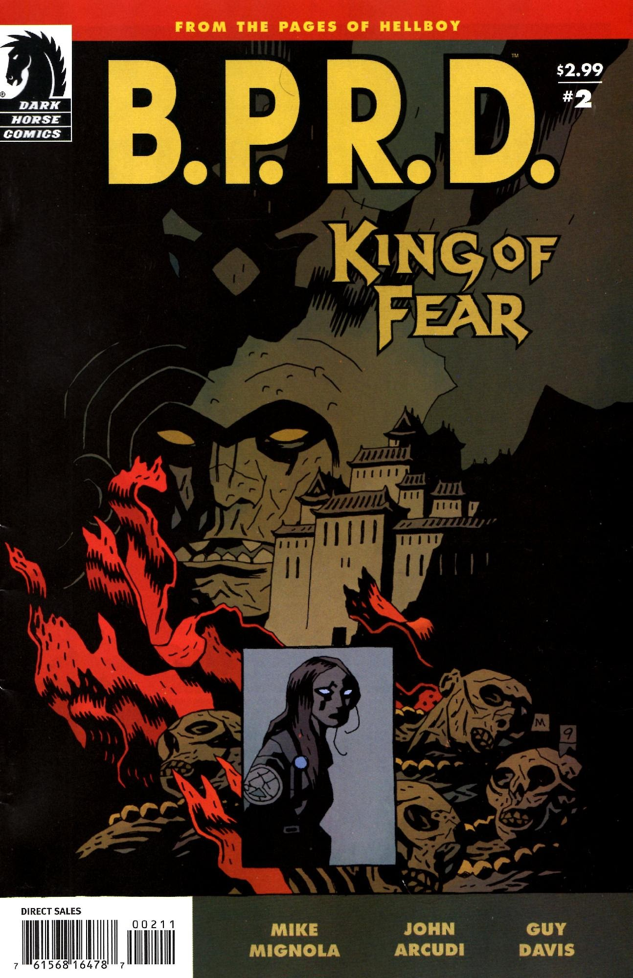 B.P.R.D.: King of Fear 2 Page 1
