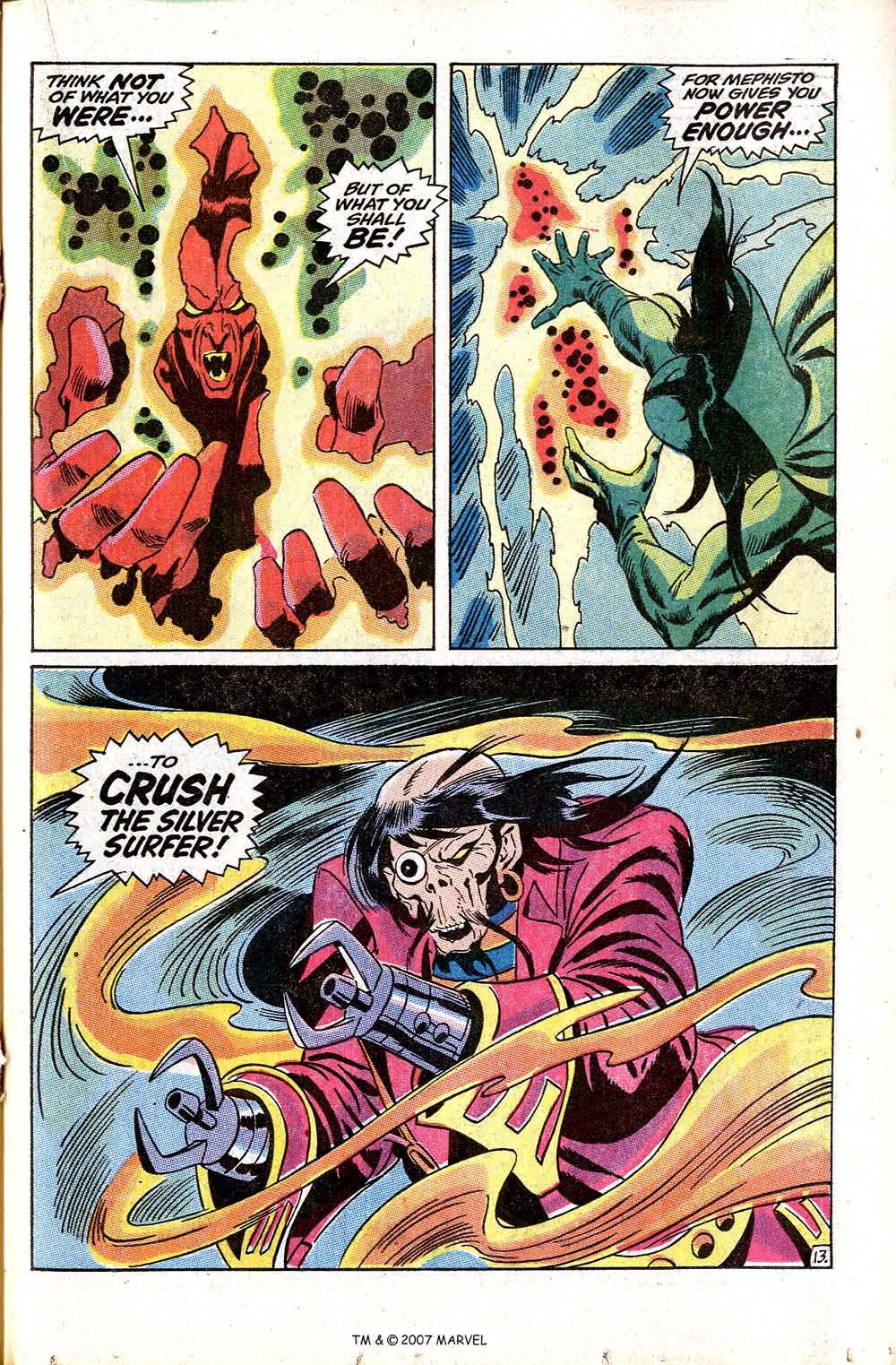 Read online Silver Surfer (1968) comic -  Issue #8 - 19