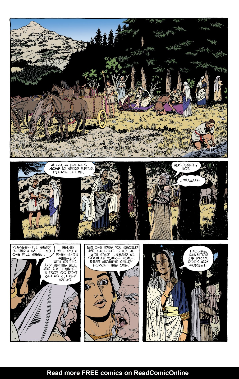 Read online Age of Bronze comic -  Issue #34 - 10