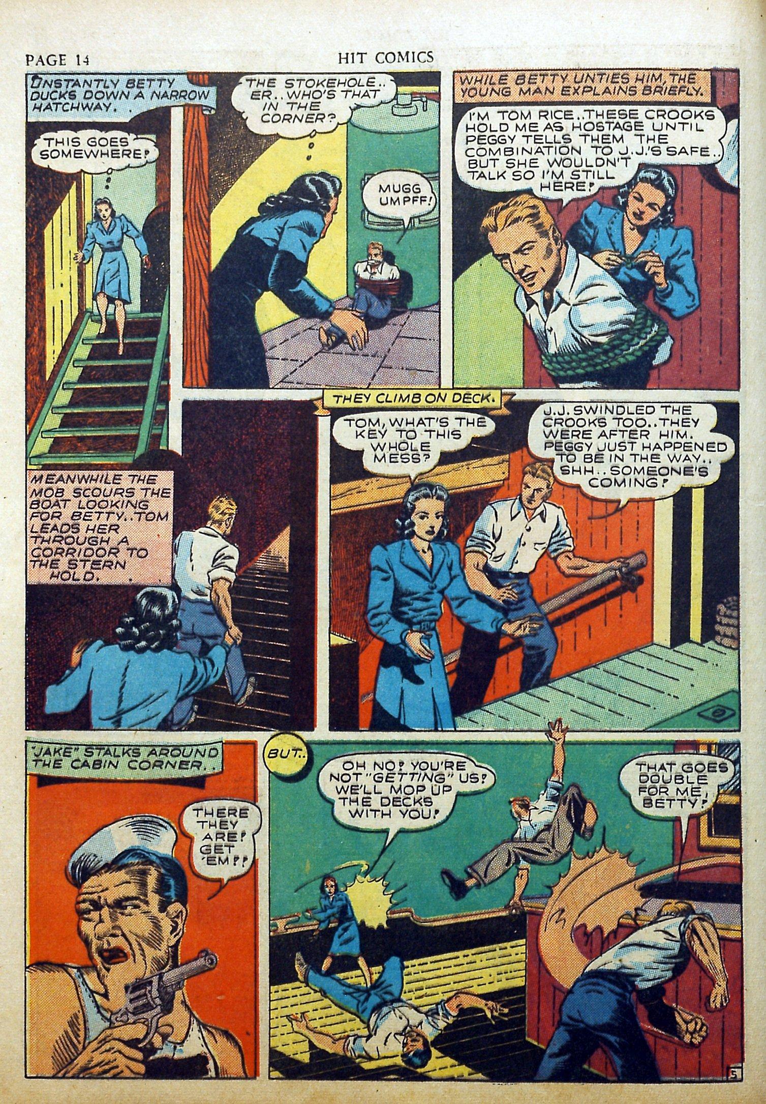 Read online Hit Comics comic -  Issue #17 - 16