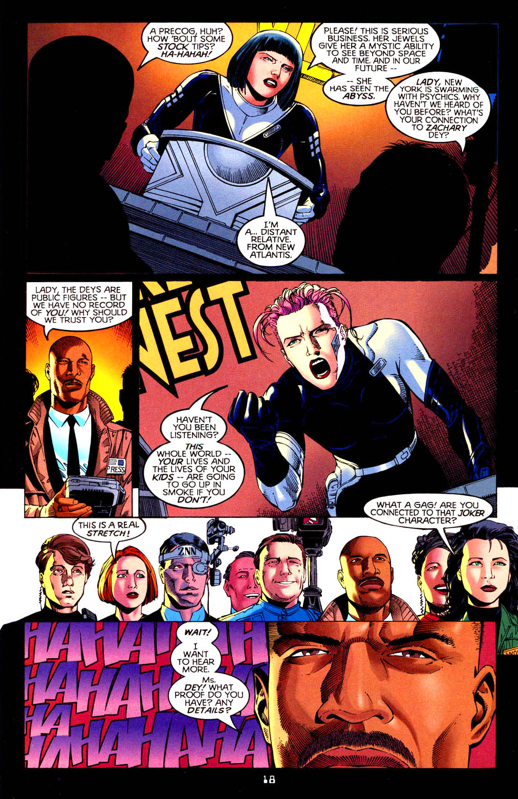 Read online Tangent Comics/ Doom Patrol comic -  Issue # Full - 19