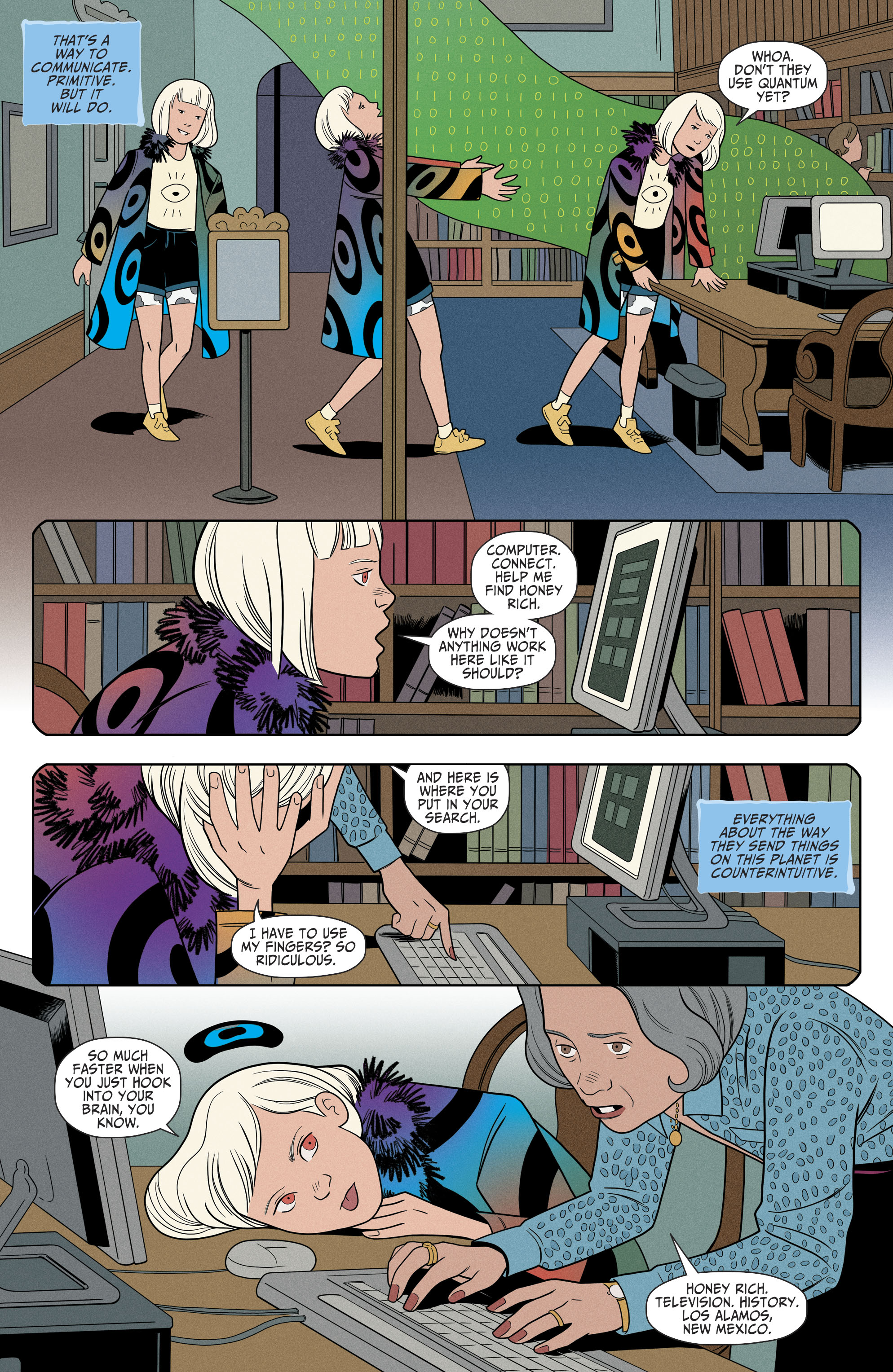Read online Shade, the Changing Girl comic -  Issue #9 - 16