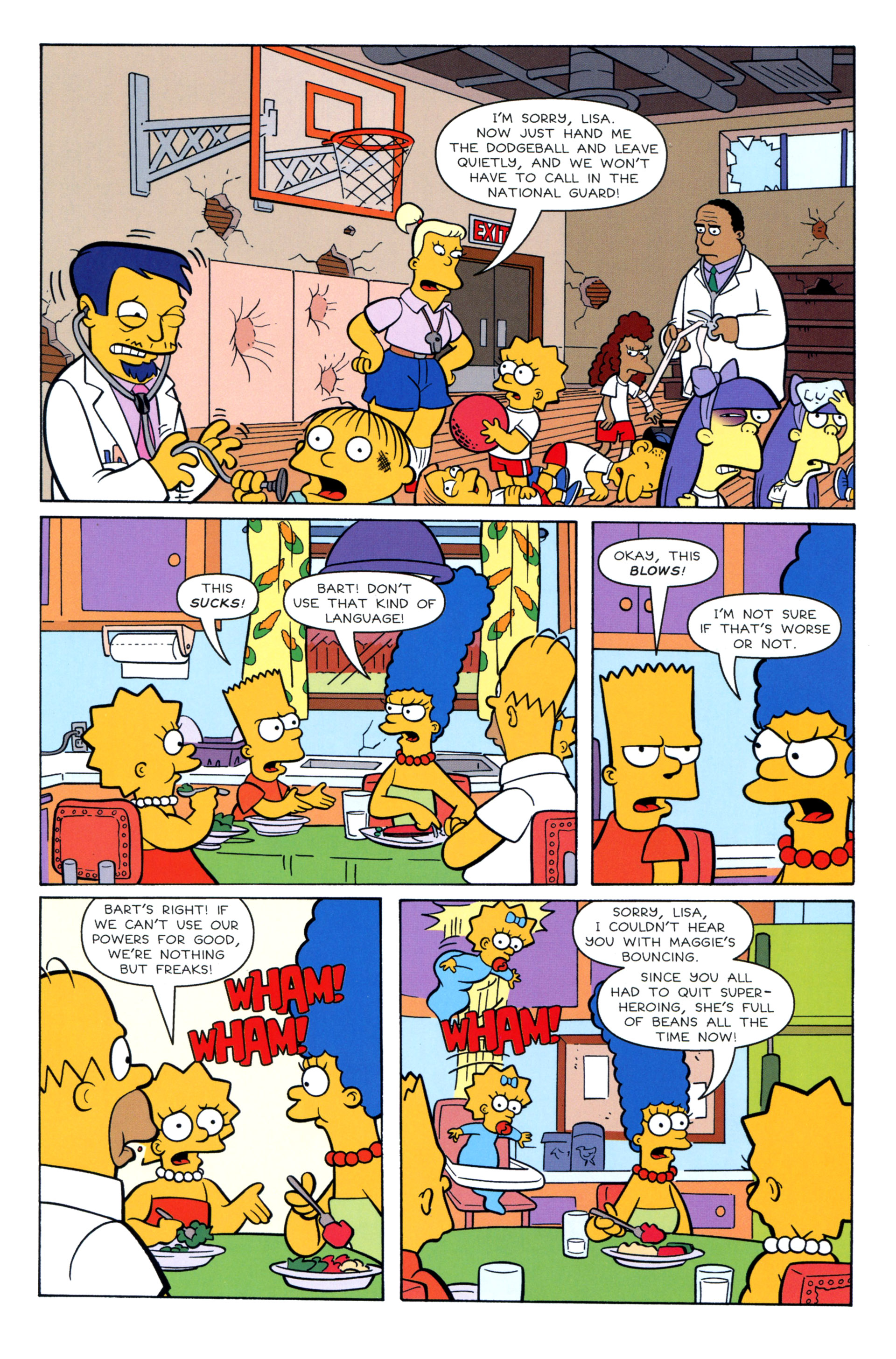 Read online Simpsons Illustrated (2012) comic -  Issue #8 - 41