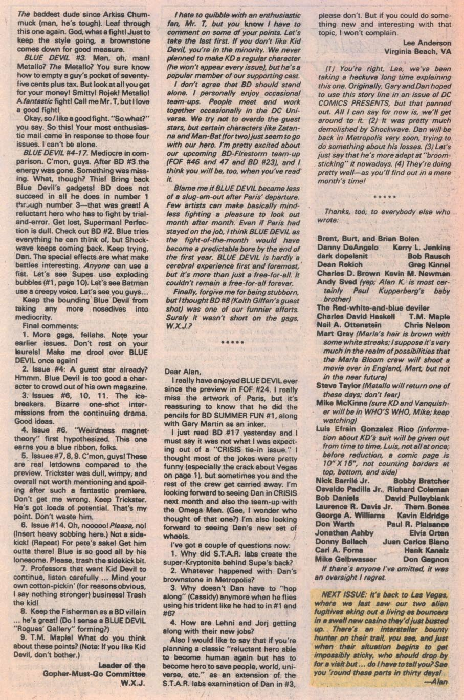 Blue Devil #21 - Read Blue Devil Issue #21 Page 25