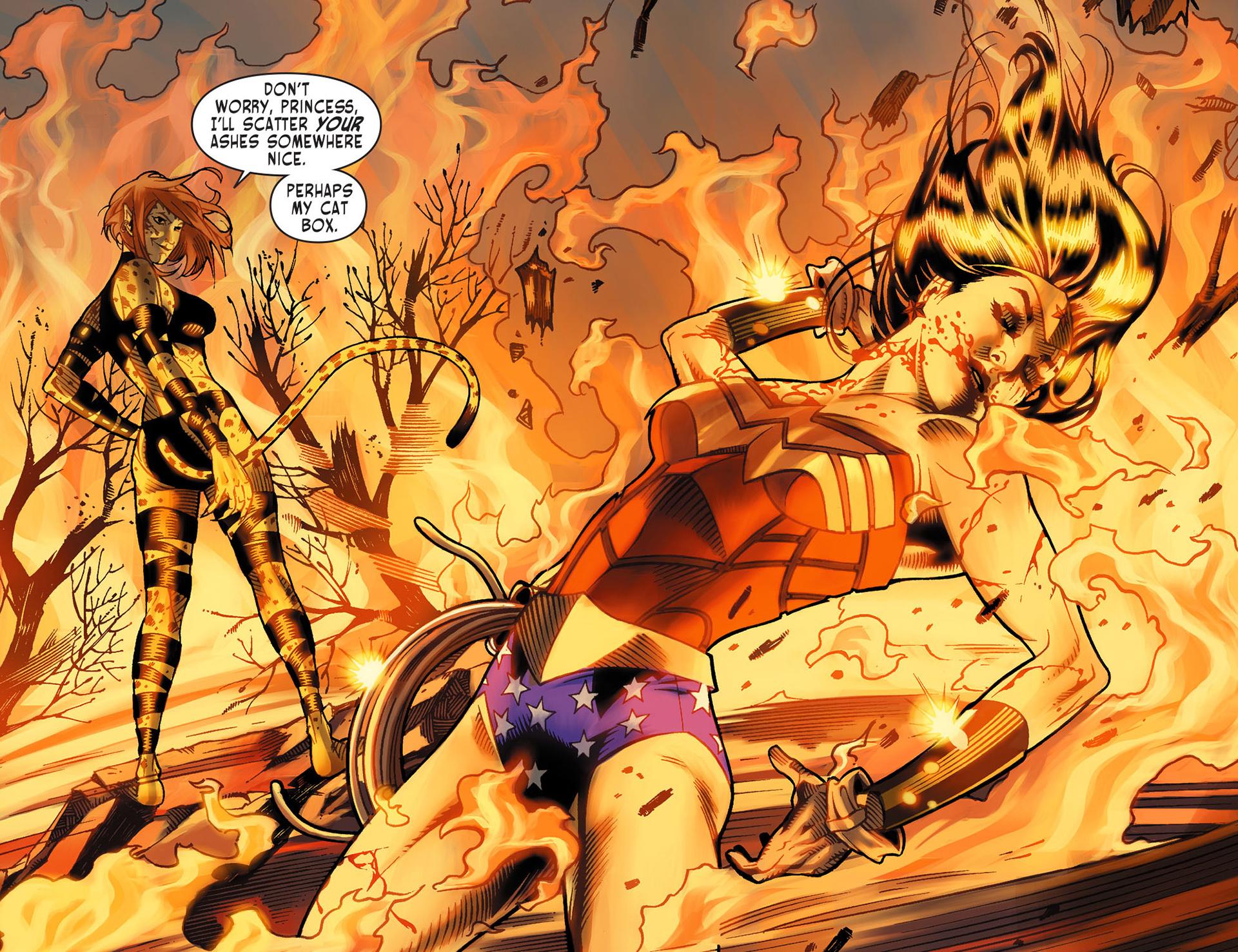 Read online Sensation Comics Featuring Wonder Woman comic -  Issue #13 - 13