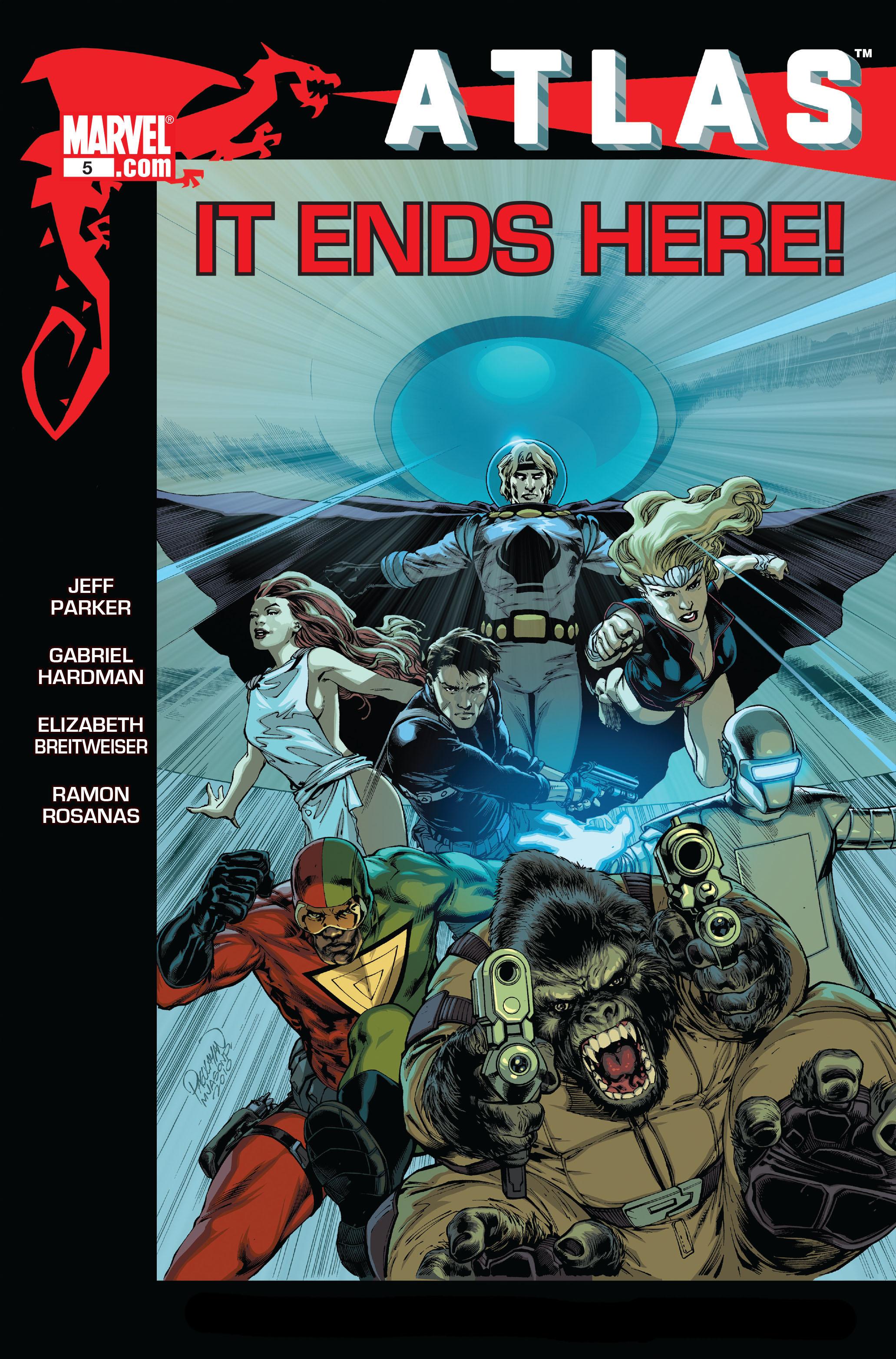 Read online Atlas comic -  Issue #5 - 1