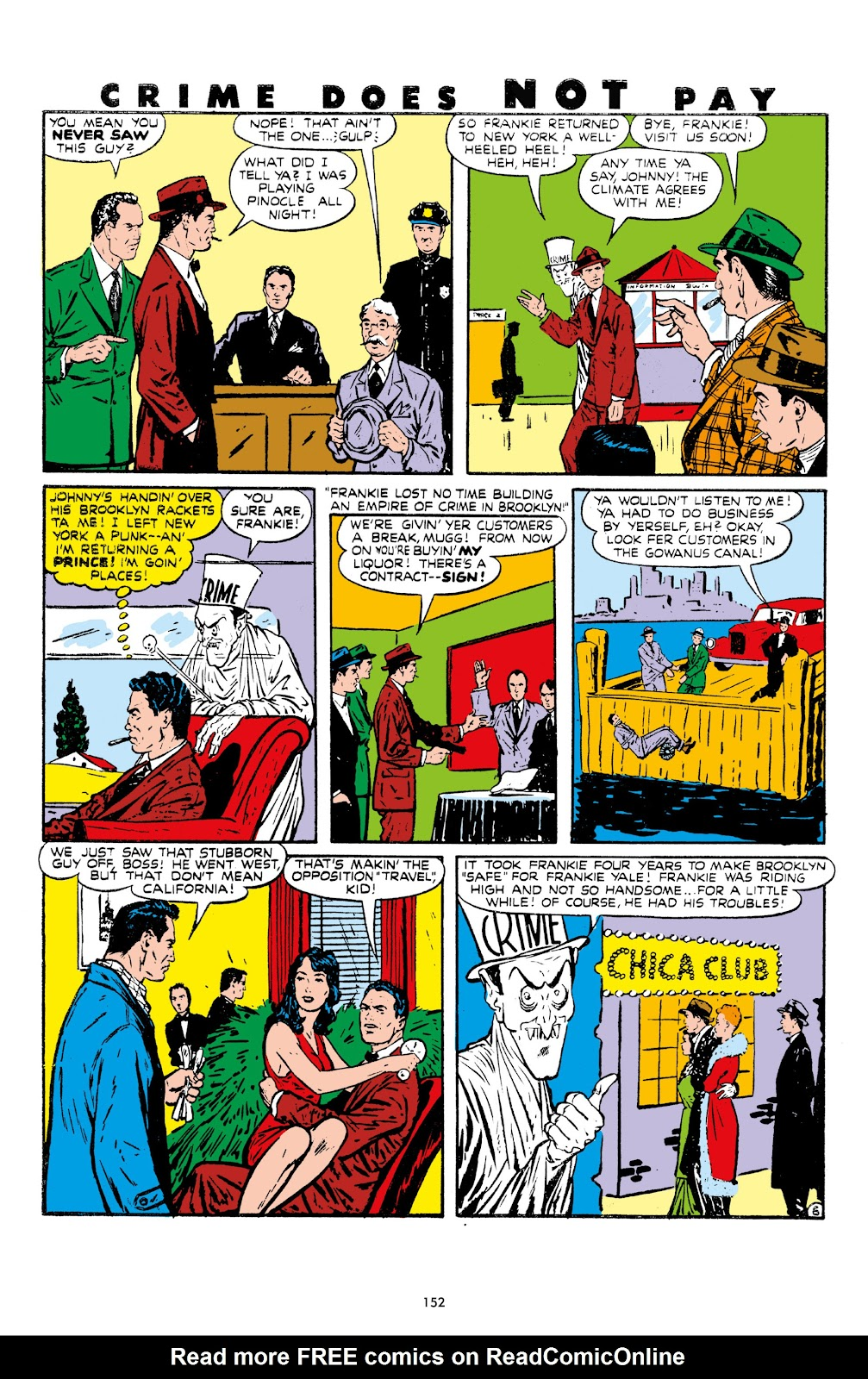 Read online Crime Does Not Pay Archives comic -  Issue # TPB 7 (Part 2) - 54