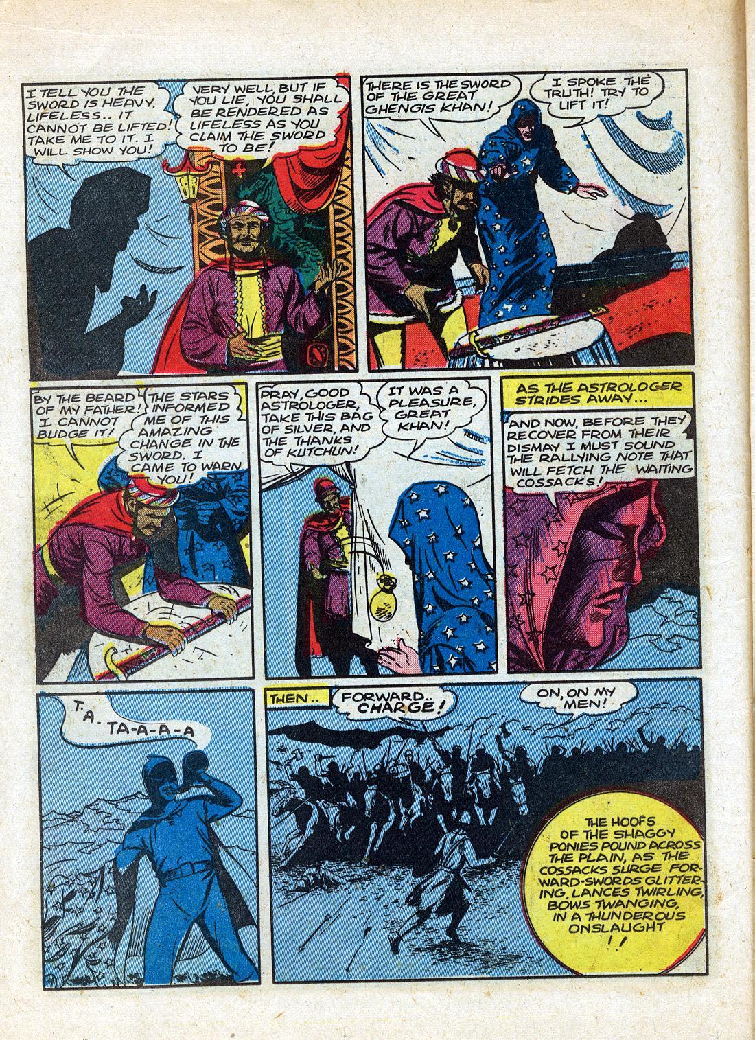 Read online Sensation (Mystery) Comics comic -  Issue #26 - 20