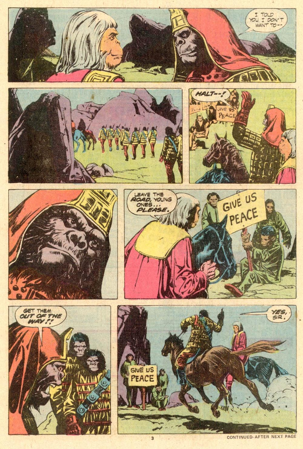 Read online Adventures on the Planet of the Apes comic -  Issue #10 - 4