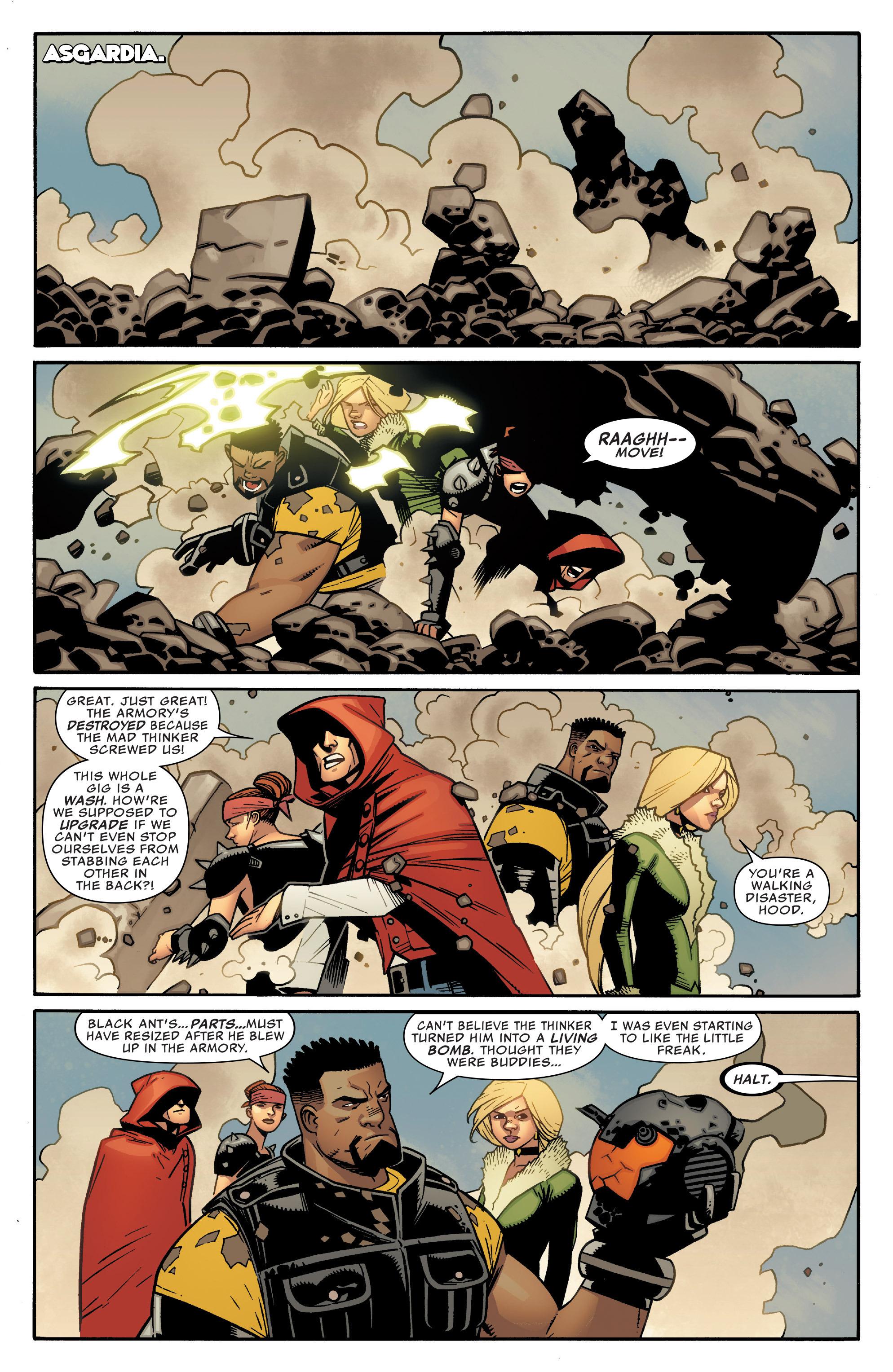 Read online Illuminati comic -  Issue #5 - 3