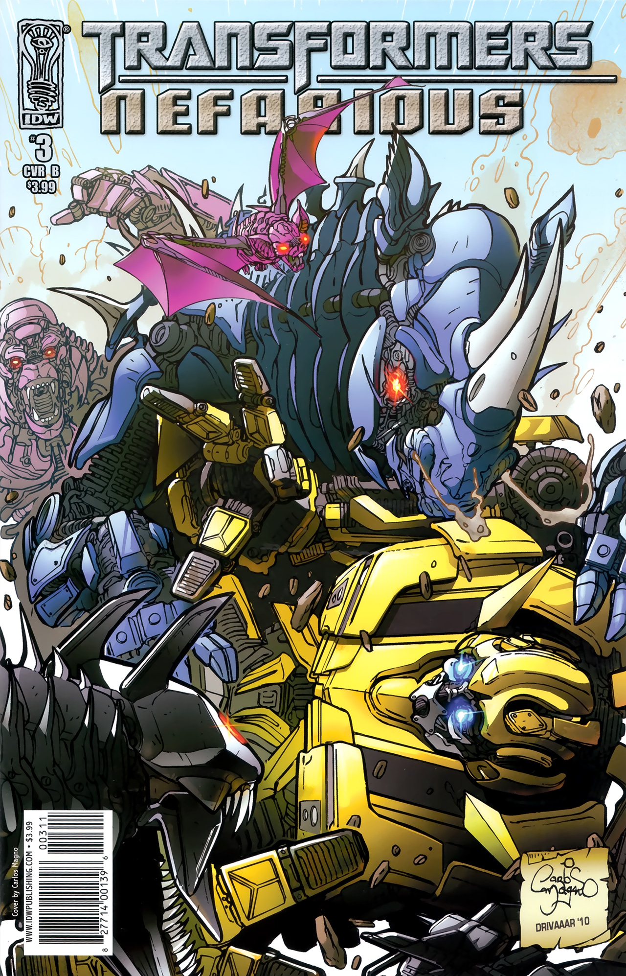 Read online Transformers: Nefarious comic -  Issue #3 - 2
