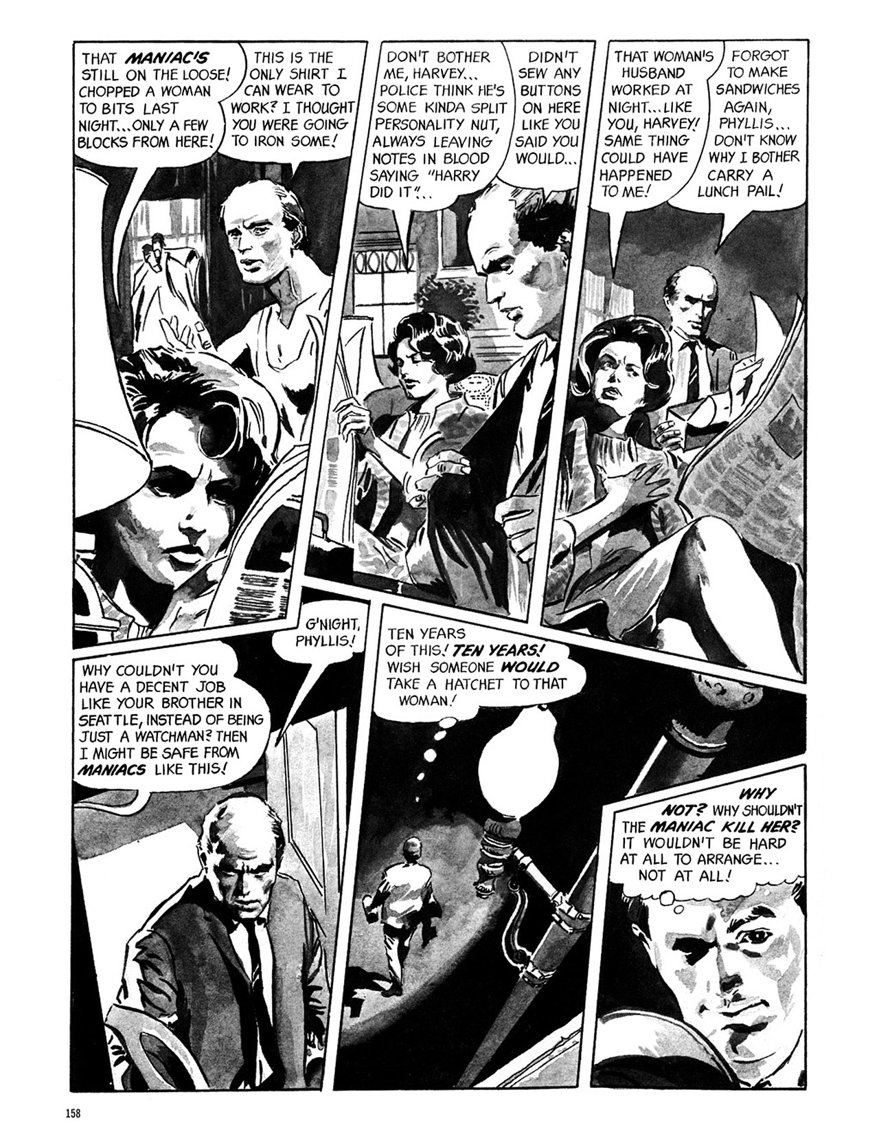 Read online Eerie Archives comic -  Issue # TPB 1 - 159