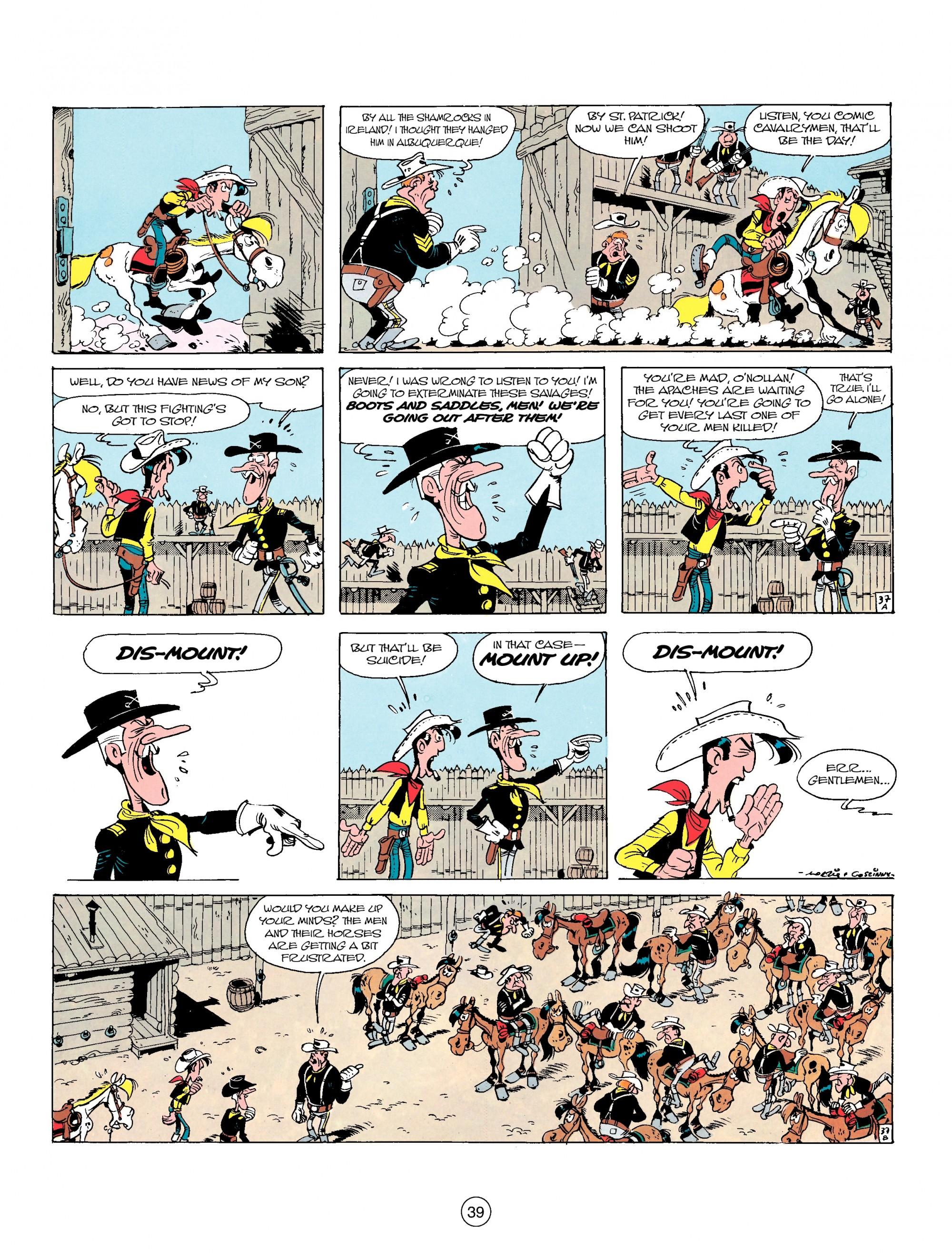 Read online A Lucky Luke Adventure comic -  Issue #17 - 39