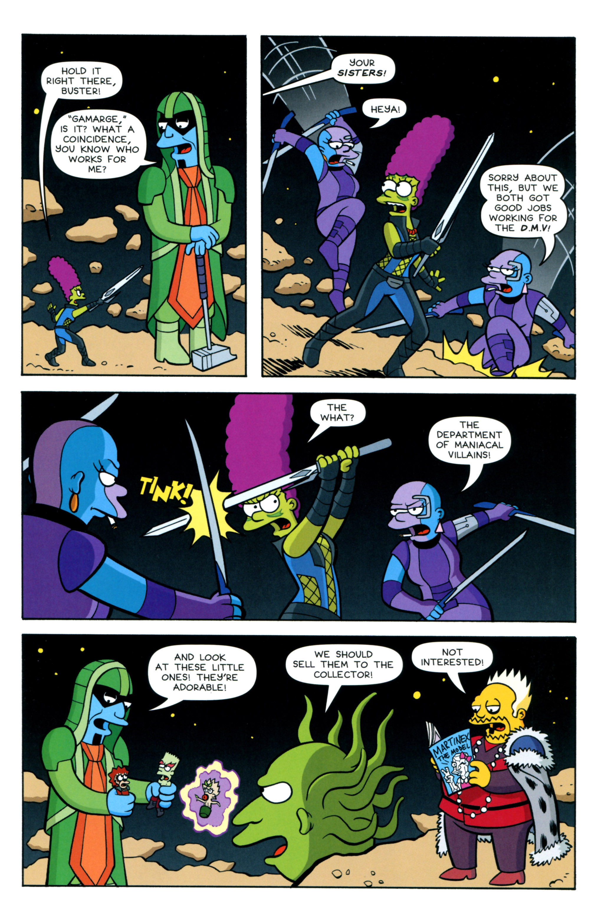 Read online Simpsons Comics comic -  Issue #218 - 11