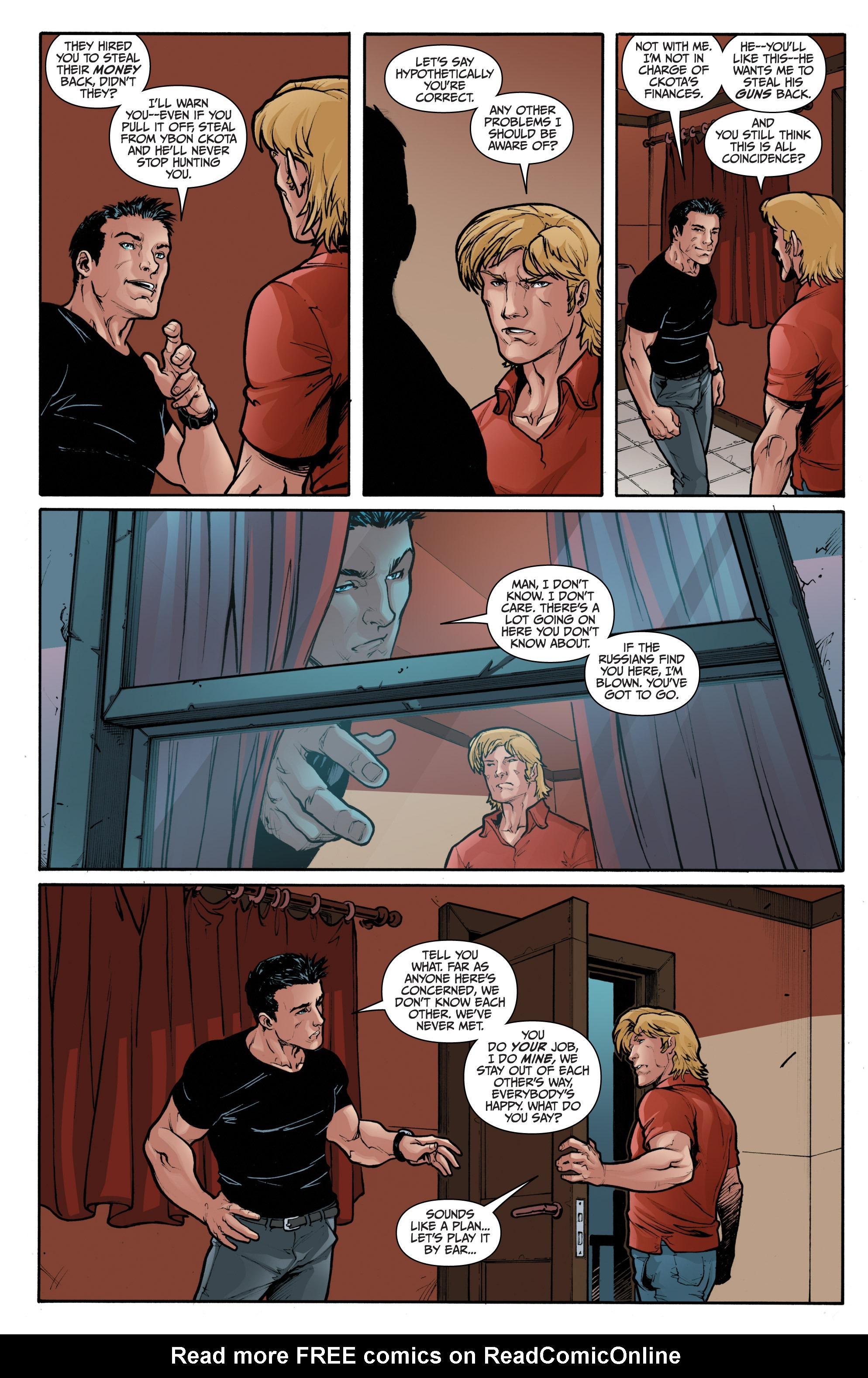 Read online 3 Guns comic -  Issue #1 - 15