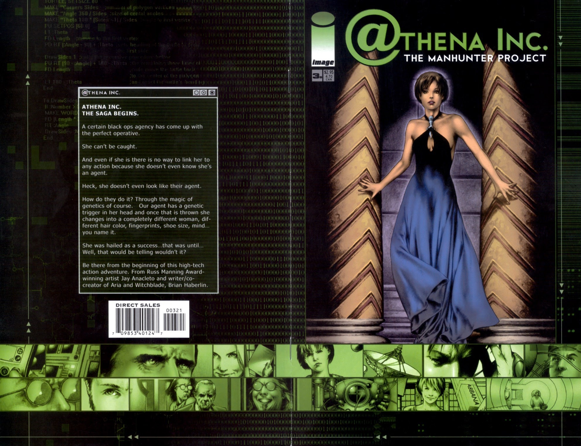 Athena Inc. The Manhunter Project 3 Page 1