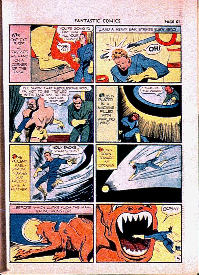 Read online Fantastic Comics comic -  Issue #13 - 64