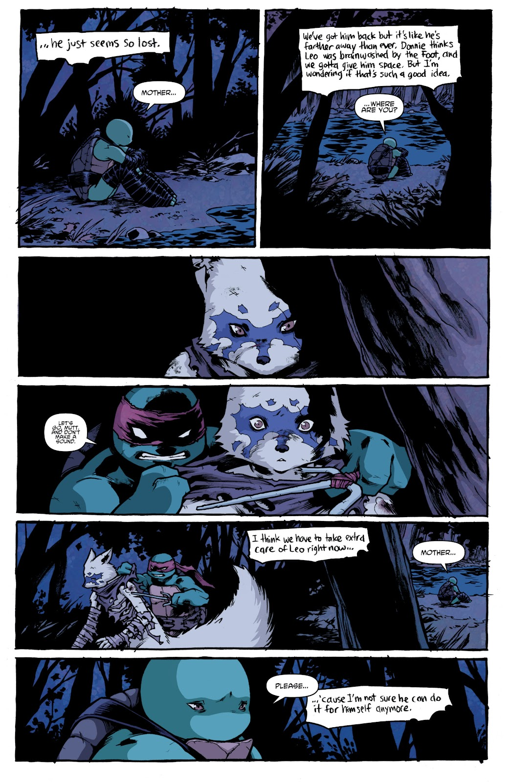 Read online Teenage Mutant Ninja Turtles: The IDW Collection comic -  Issue # TPB 4 (Part 1) - 55