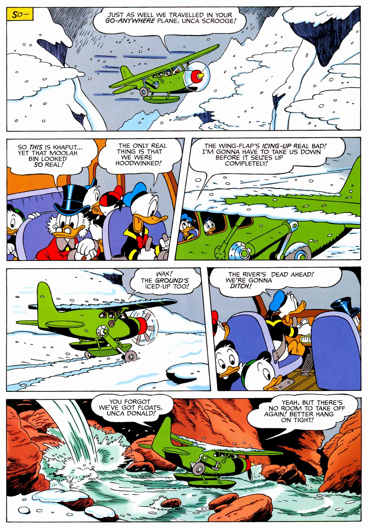 Read online Uncle Scrooge (1953) comic -  Issue #329 - 48