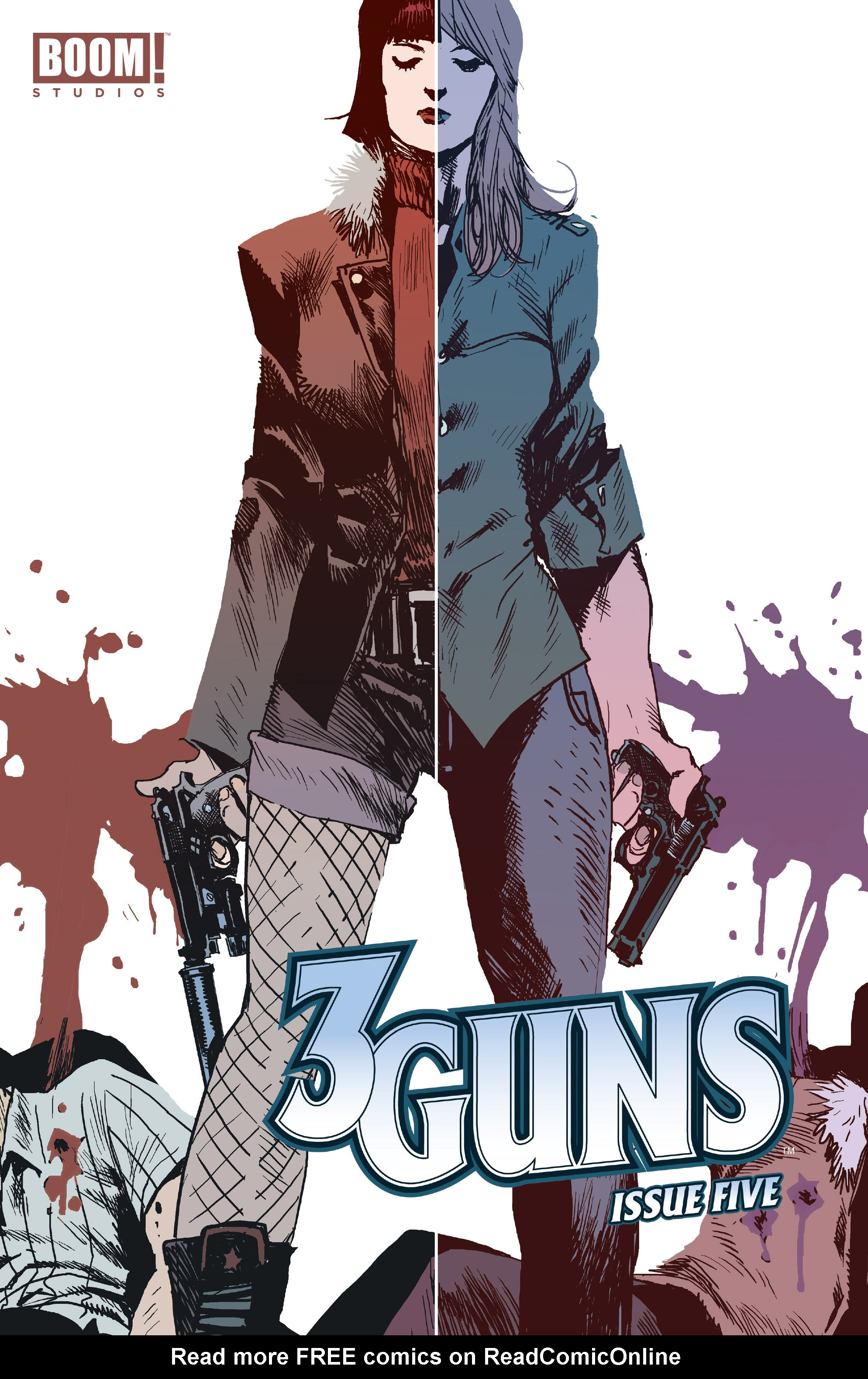 Read online 3 Guns comic -  Issue #5 - 1