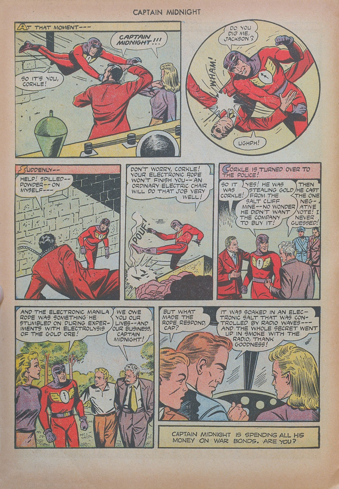 Captain Midnight (1942) issue 20 - Page 22