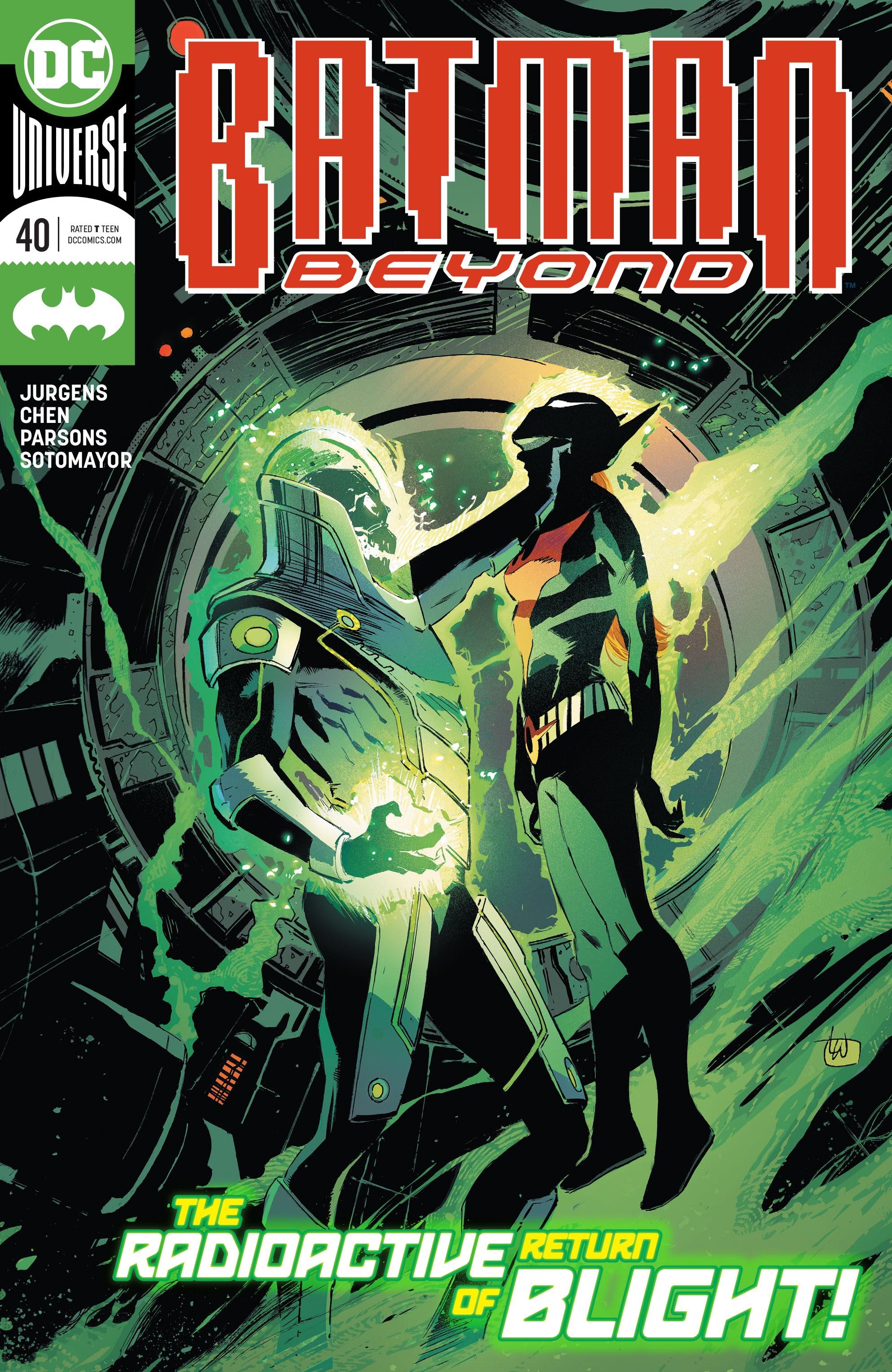 Batman Beyond (2016) 40 Page 1