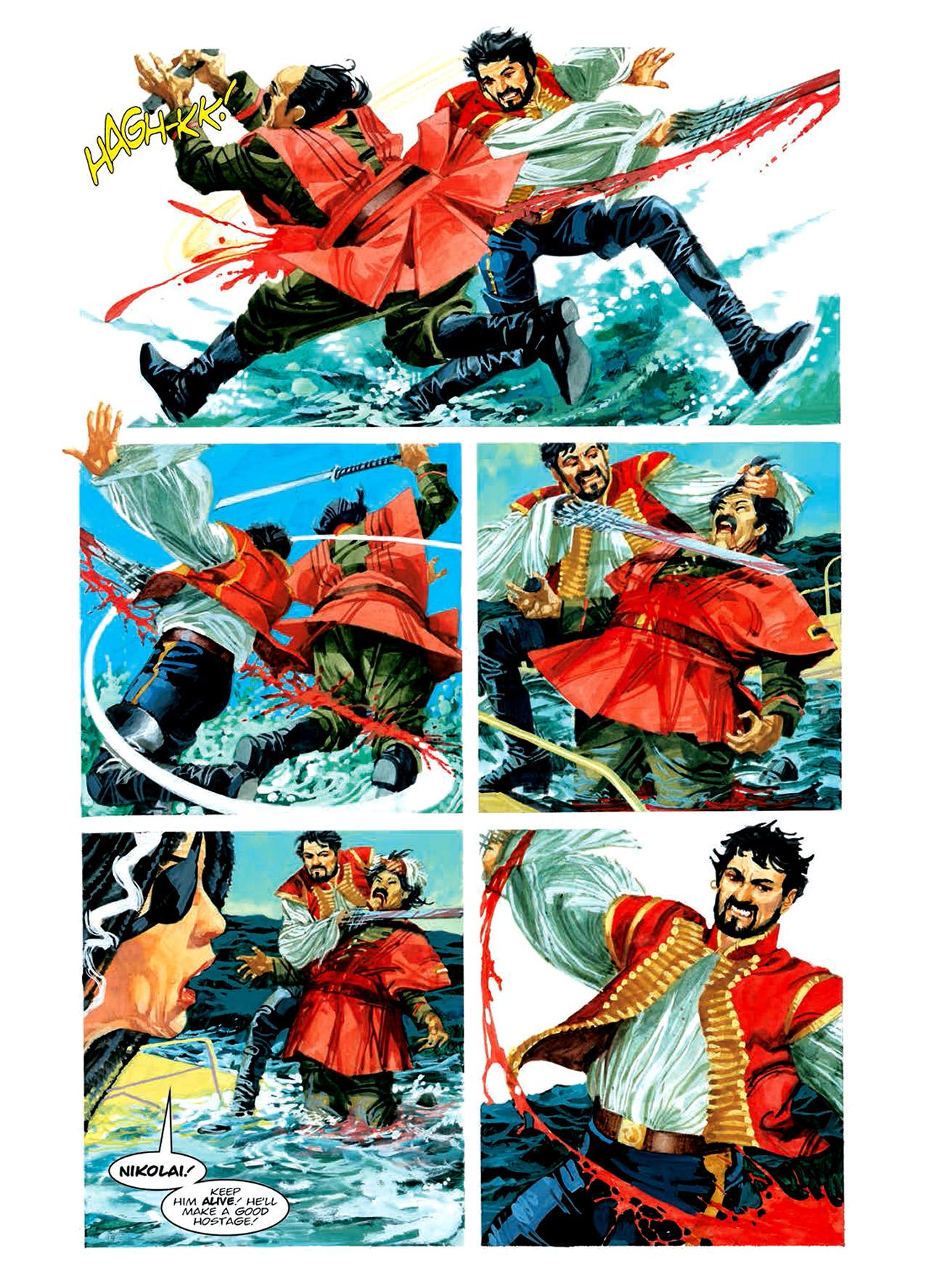 Read online Nikolai Dante comic -  Issue # TPB 6 - 130