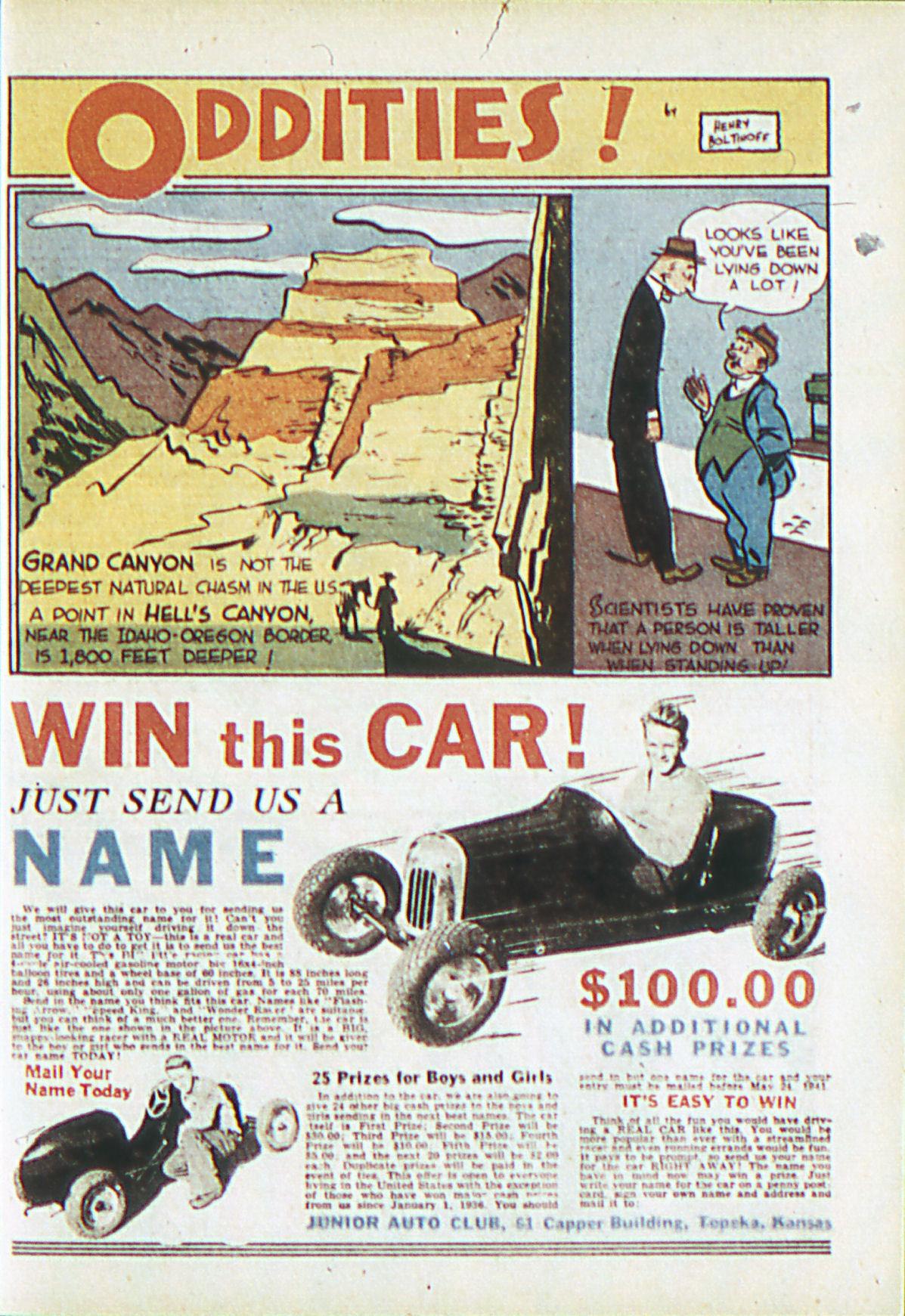 Read online Adventure Comics (1938) comic -  Issue #62 - 20