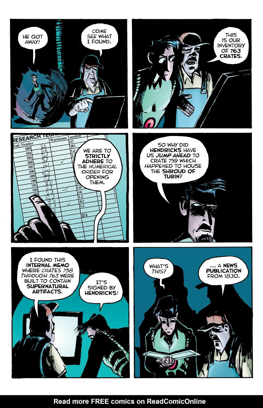 Read online Creature Tech (2019) comic -  Issue # TPB (Part 2) - 24