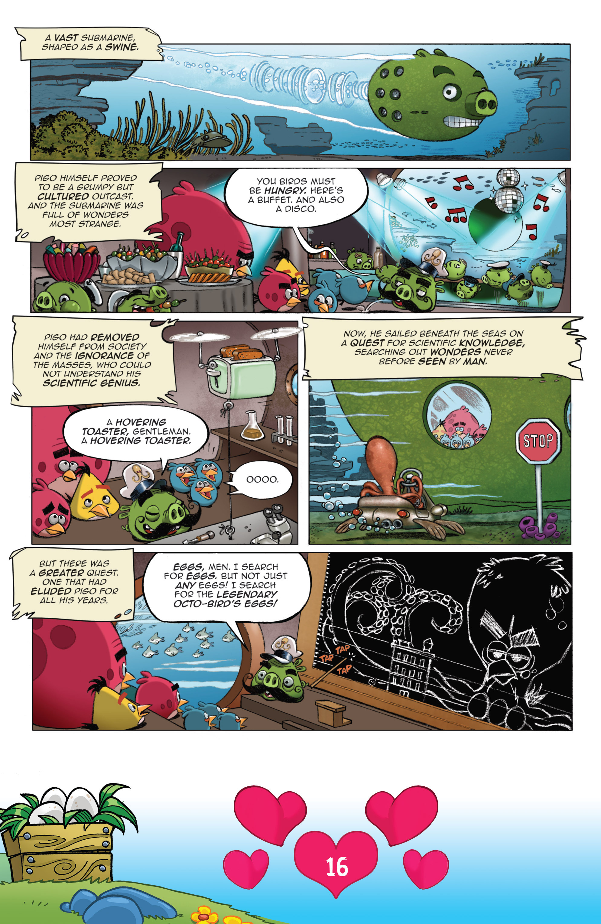 Read online Angry Birds Comics (2016) comic -  Issue #2 - 18