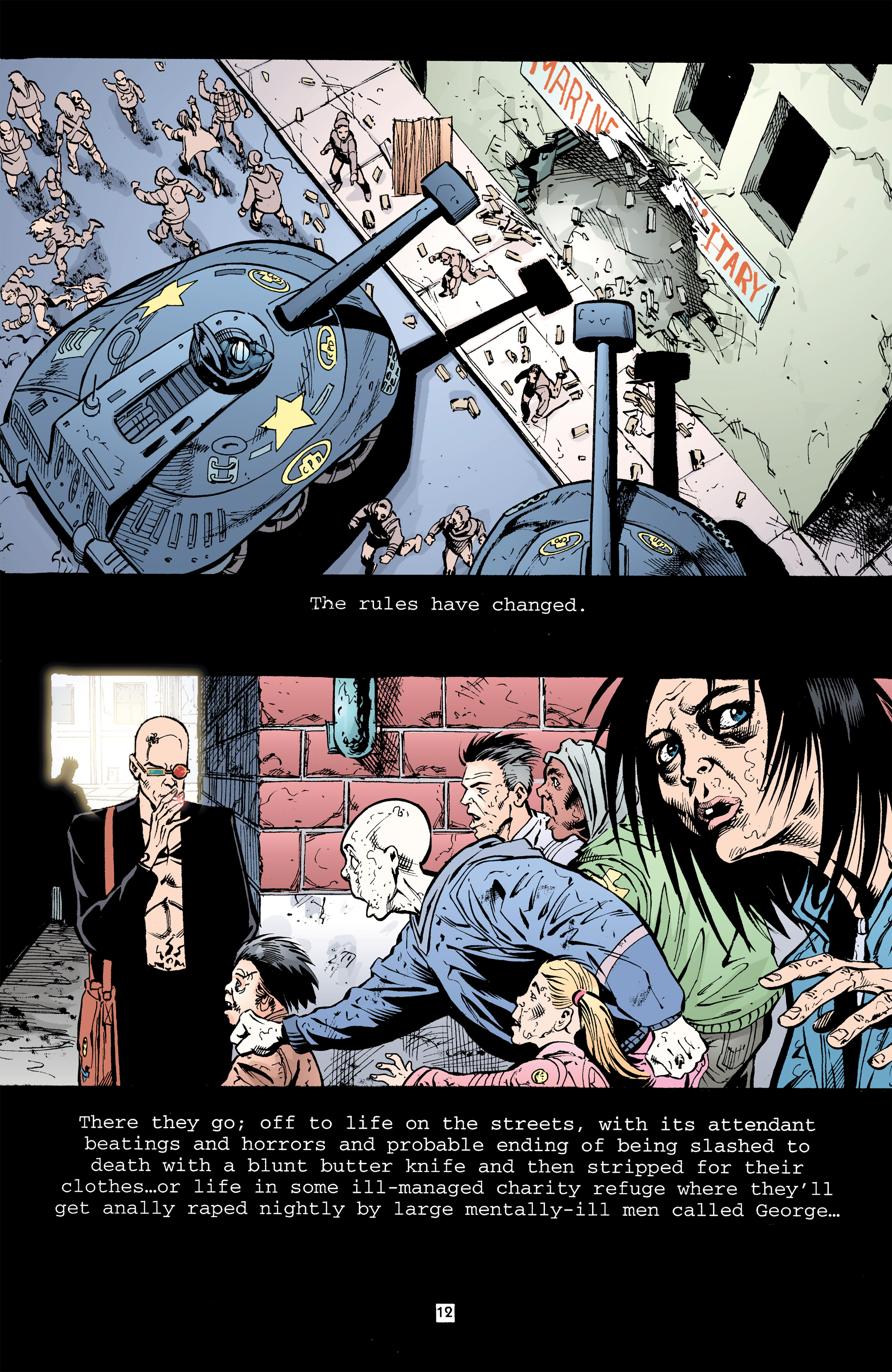 Read online Transmetropolitan comic -  Issue #32 - 13