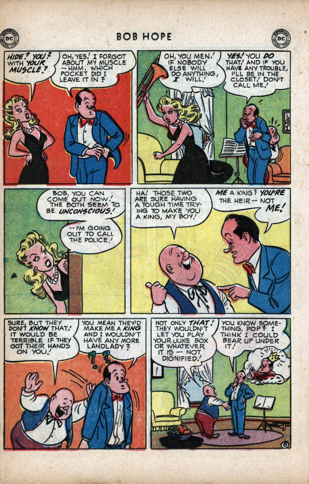 The Adventures of Bob Hope issue 11 - Page 18