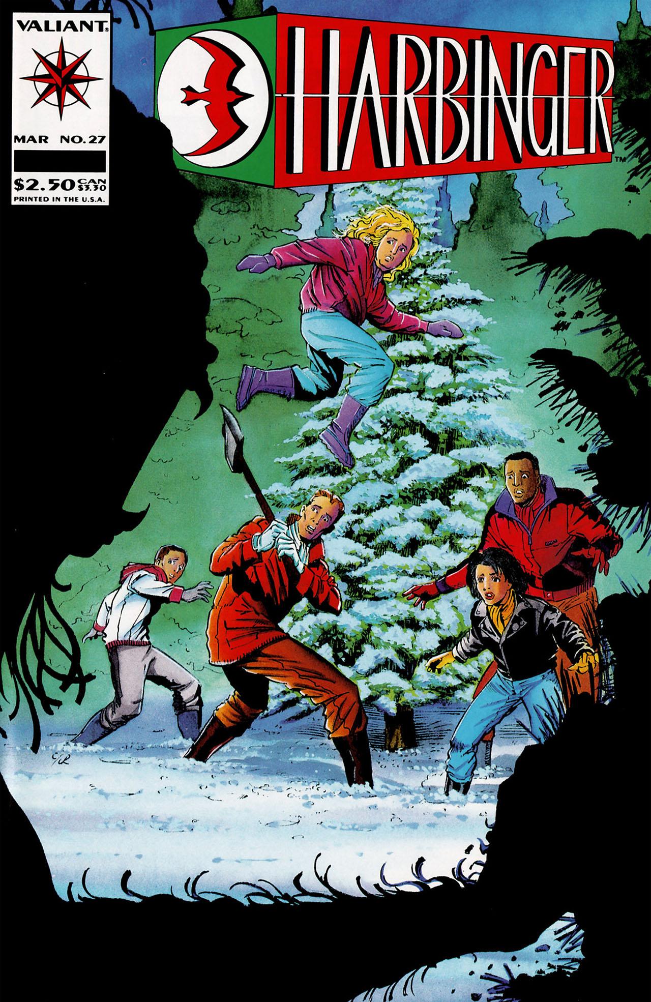 Read online Harbinger (1992) comic -  Issue #27 - 1