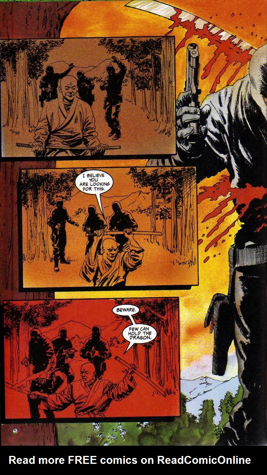 Read online Shado: Song of the Dragon comic -  Issue #3 - 12