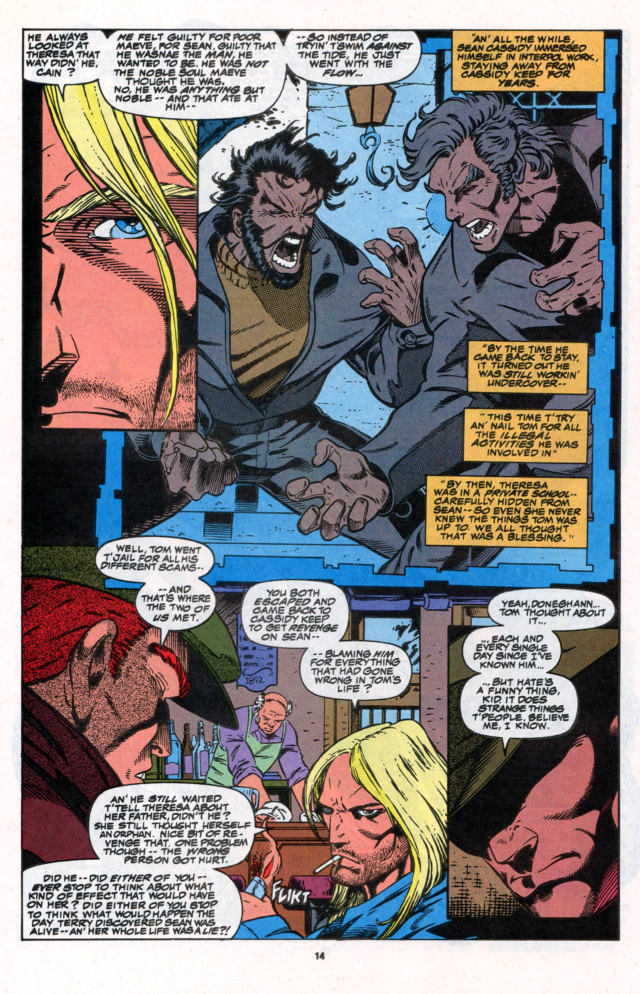Read online X-Force (1991) comic -  Issue #31 - 15