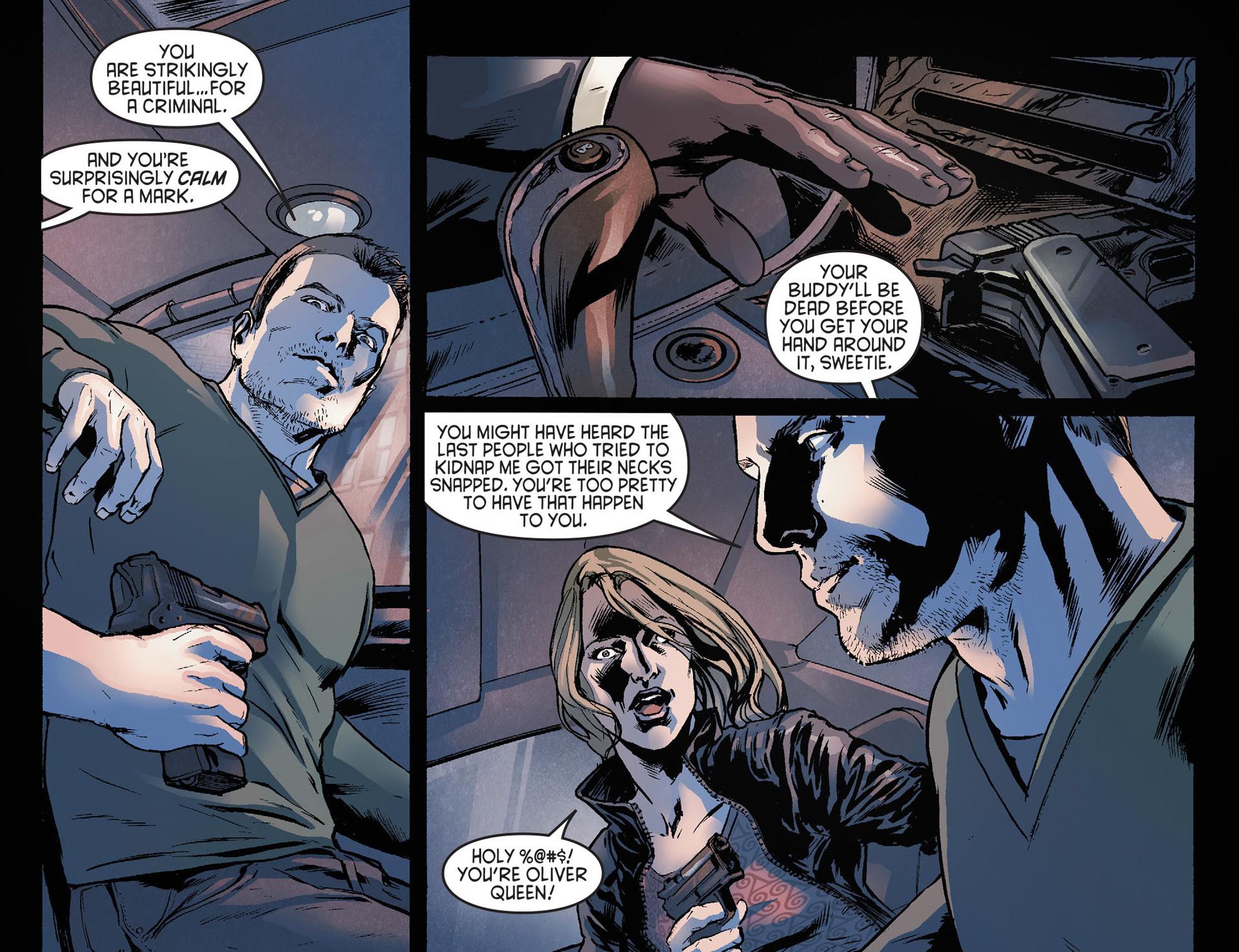 Read online Arrow [II] comic -  Issue #21 - 5