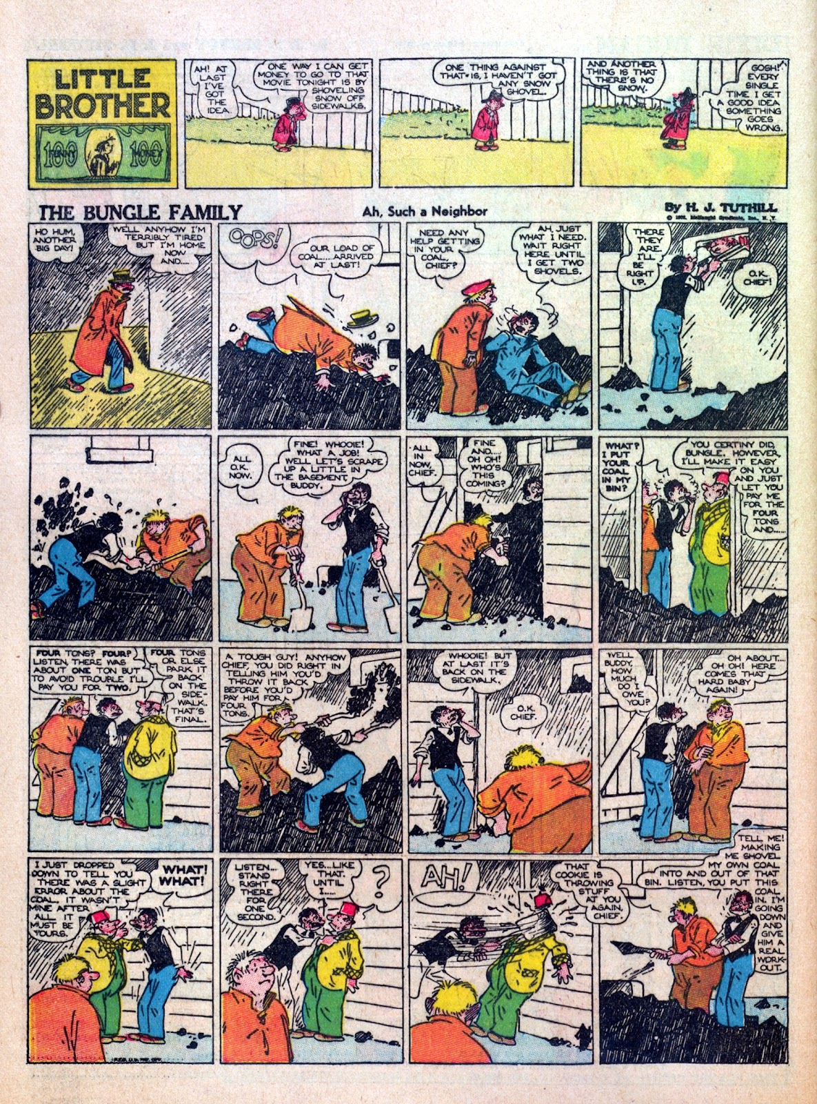 Read online Famous Funnies comic -  Issue #8 - 54