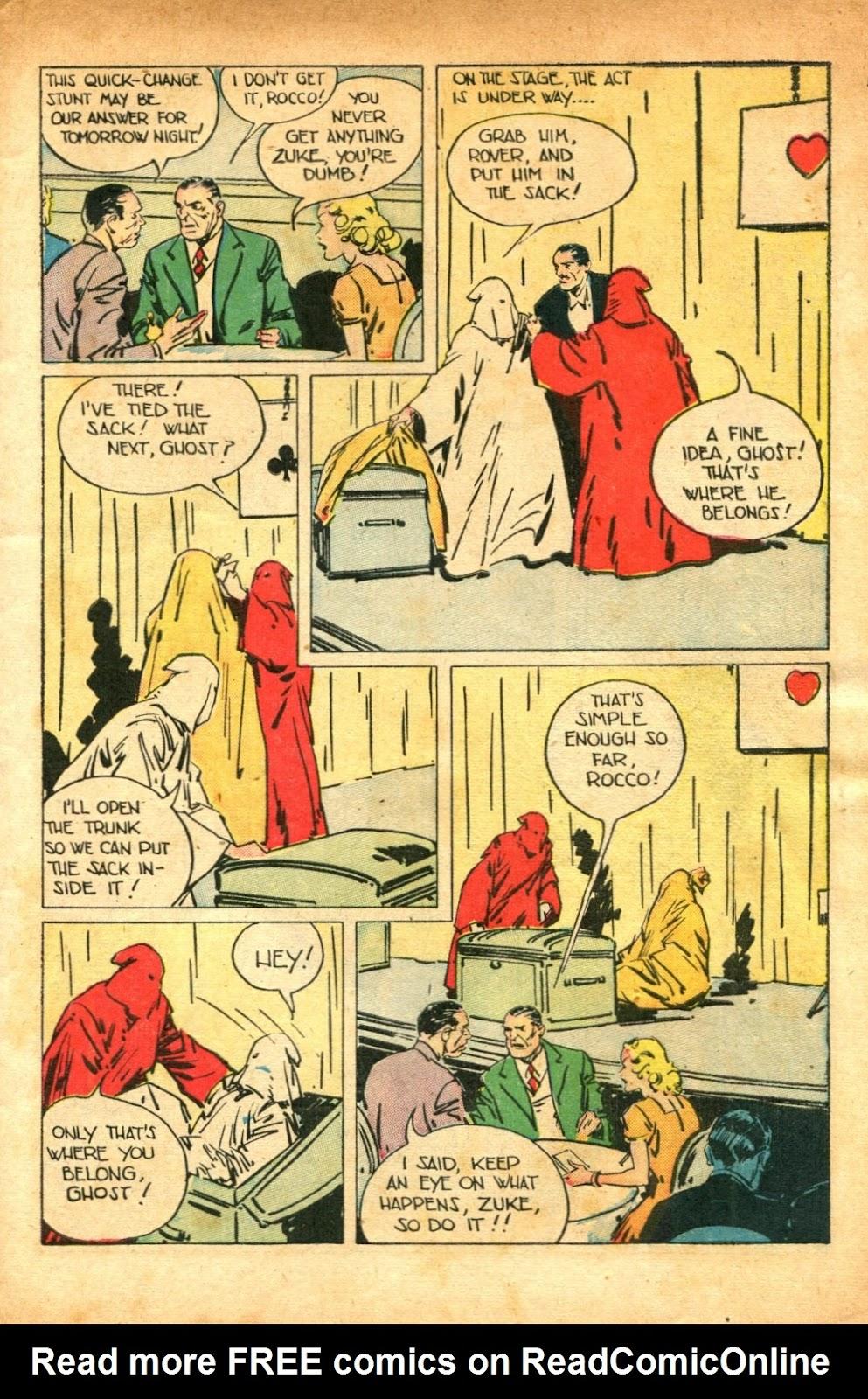 Read online Super-Magician Comics comic -  Issue #51 - 5