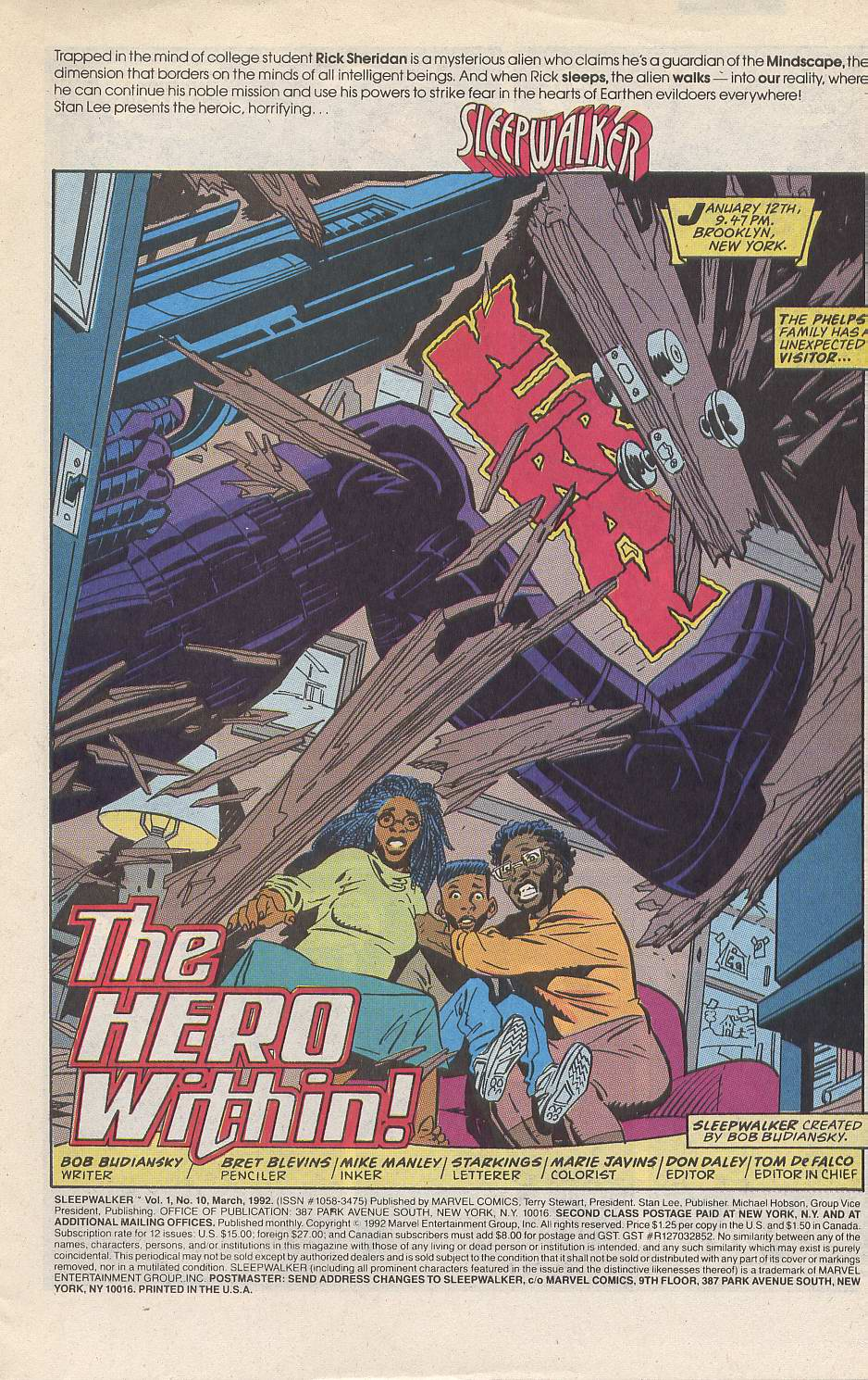 Read online Sleepwalker comic -  Issue #10 - 2