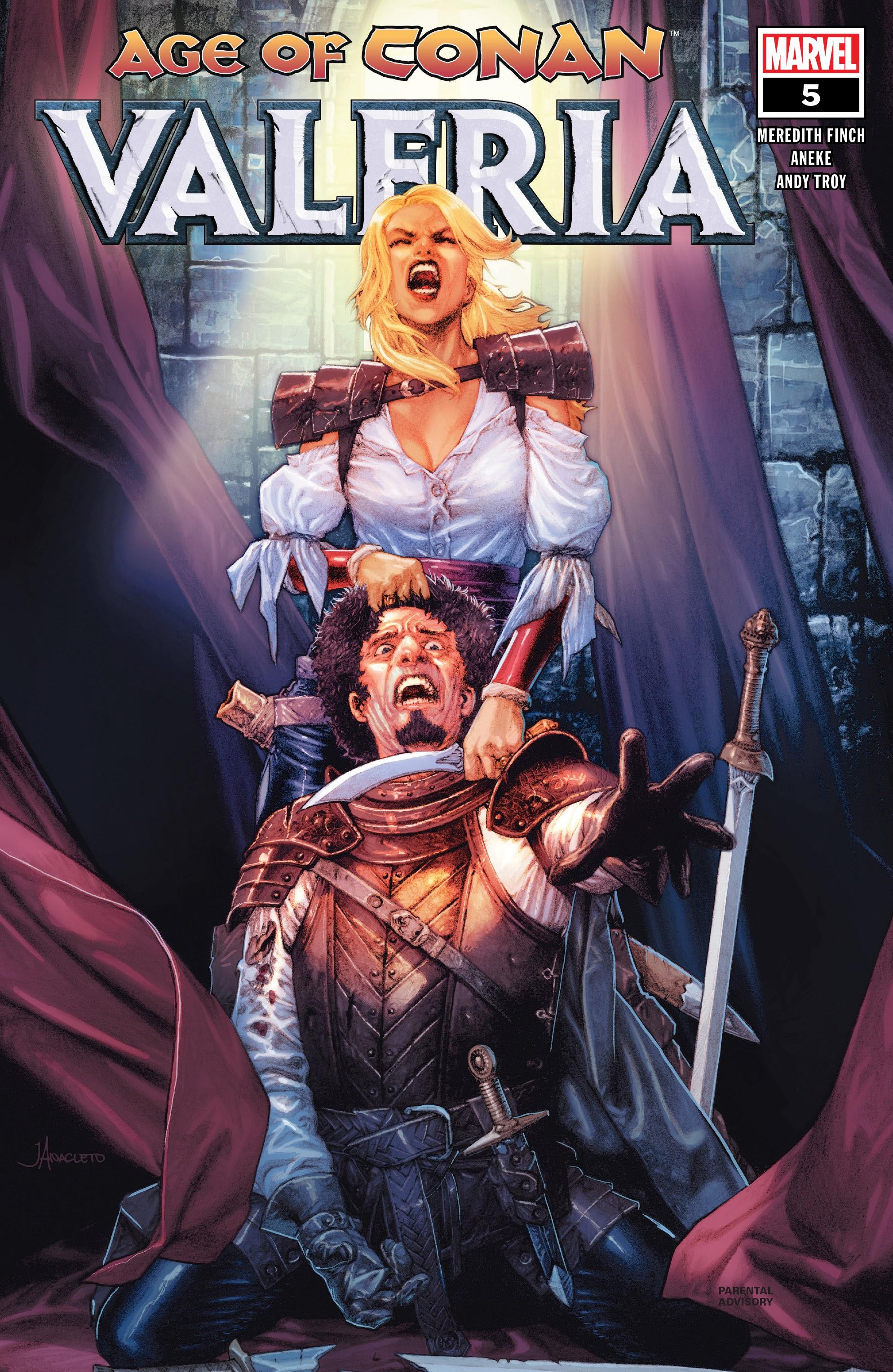 Age of Conan: Valeria 5 Page 1