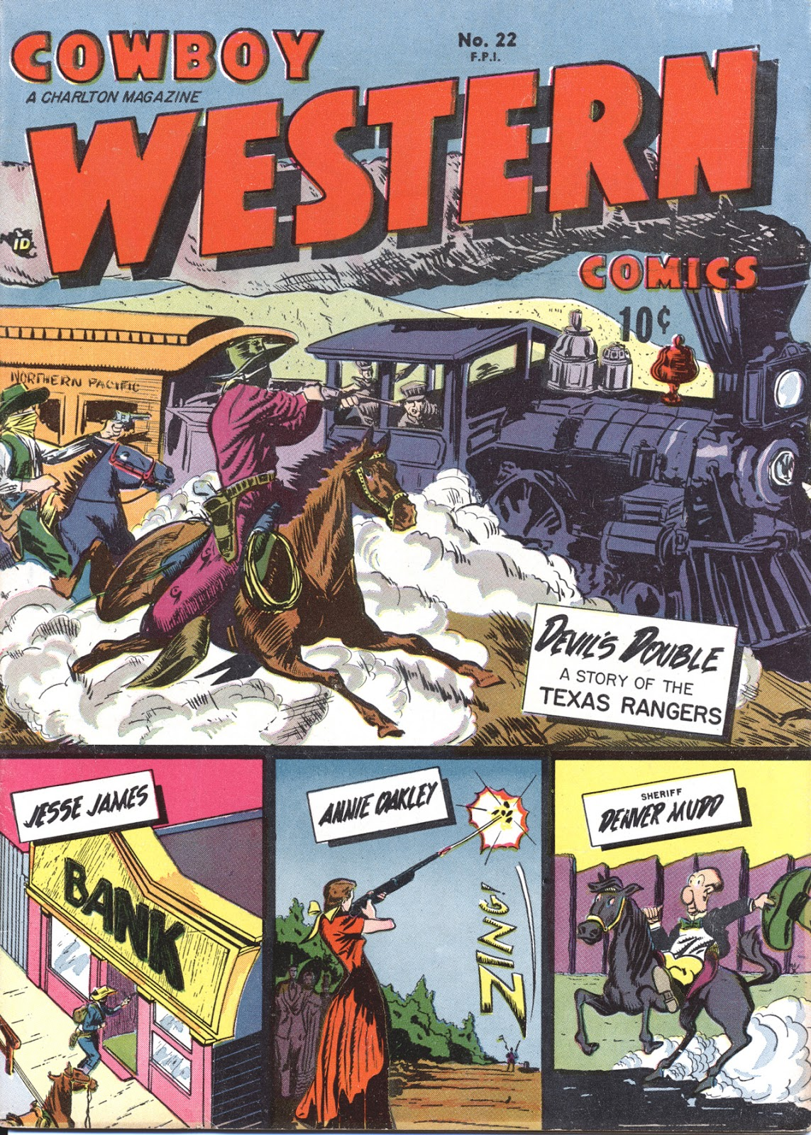 Cowboy Western Comics (1948) issue 22 - Page 1