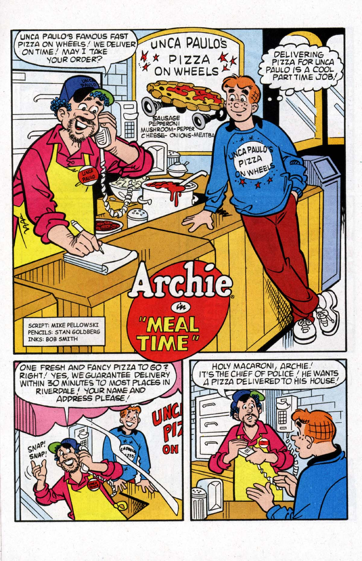 Read online Archie (1960) comic -  Issue #526 - 16